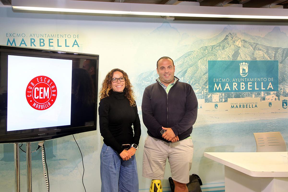 El Ayuntamiento ha acogido la presentación del programa anual del Club de Escalada Marbella, que cuenta con un total de 69 actividades