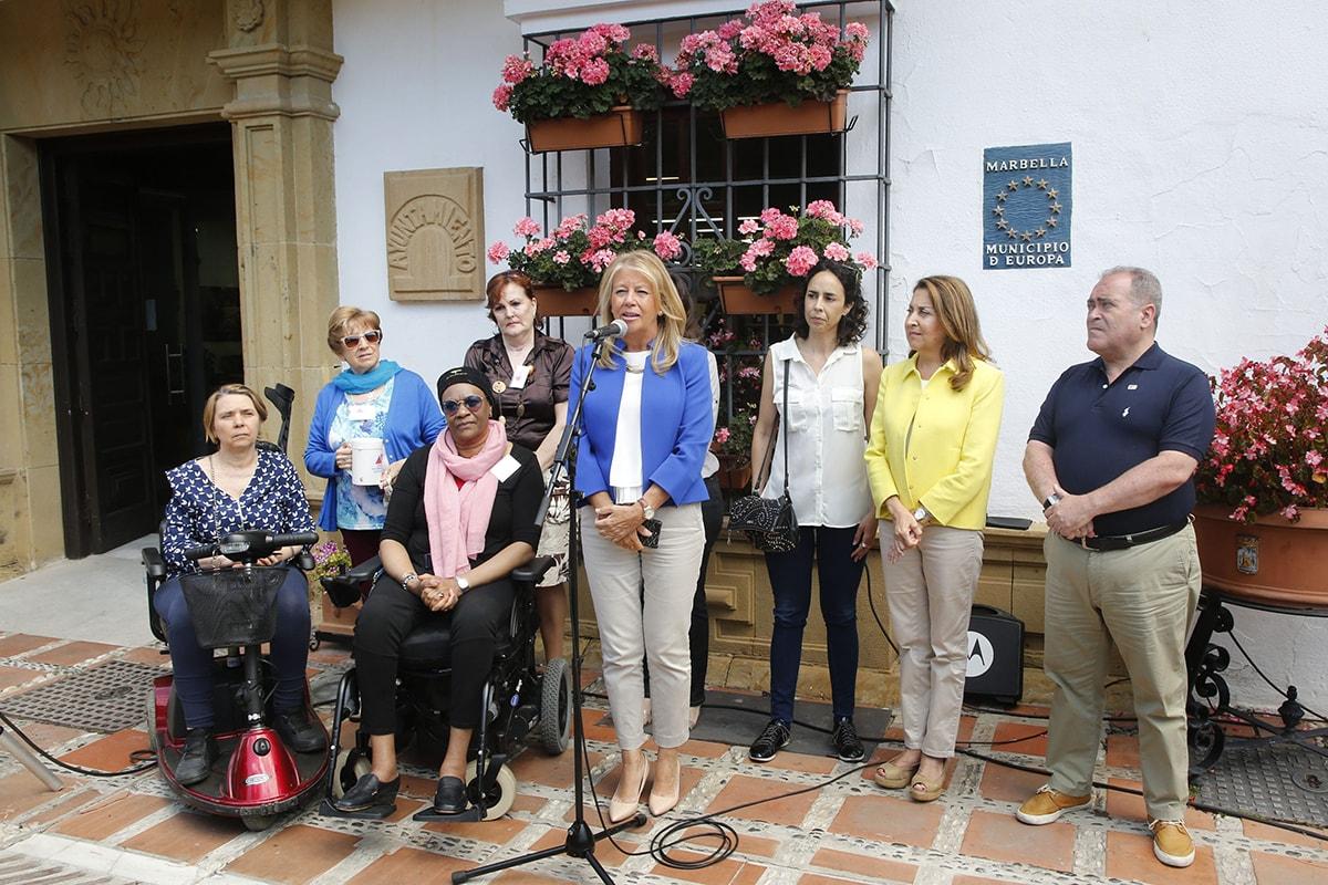 """El Ayuntamiento ha apostado hoy """"por impulsar la investigación"""" sobre la esclerosis múltiple"""