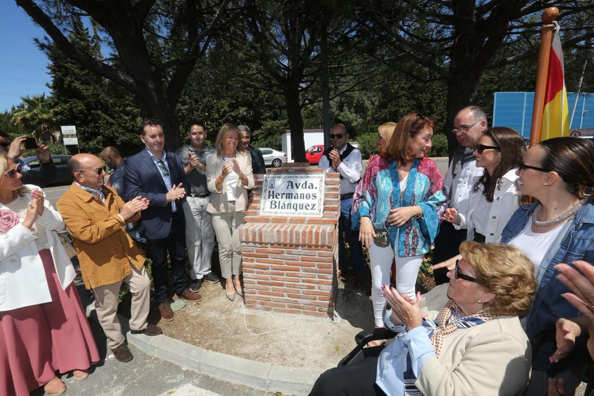 El Ayuntamiento ha inaugurado hoy la avenida Hermanos Blánquez