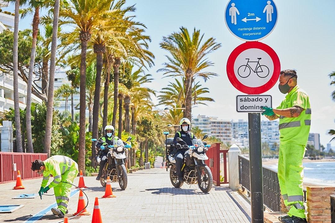 El Ayuntamiento habilitará este fin de semana una ruta alternativa para ciclistas de casi tres kilómetros