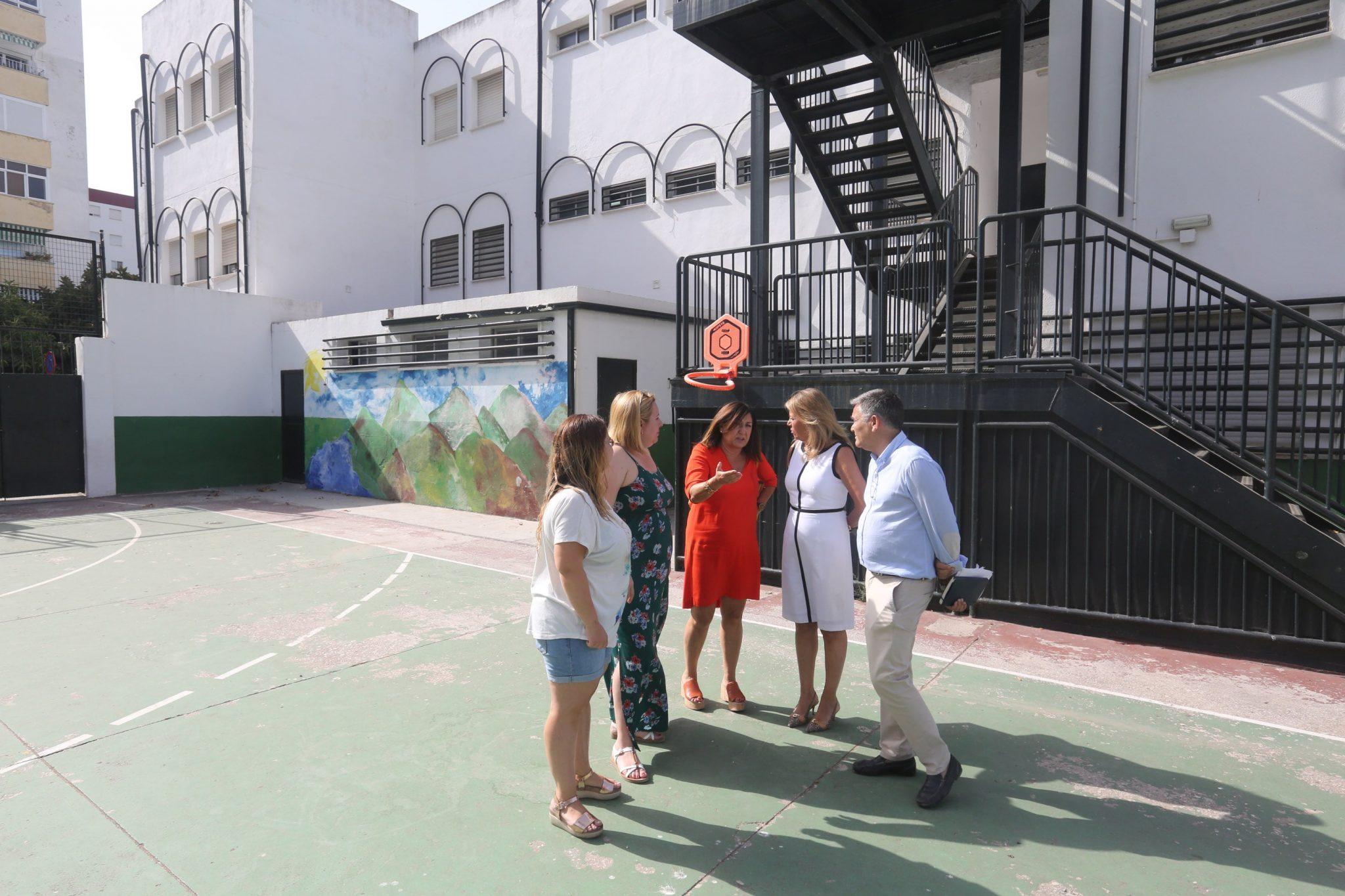 El Ayuntamiento invierte 500.000€ en mejora y mantenimiento en los centros educativos de Marbella