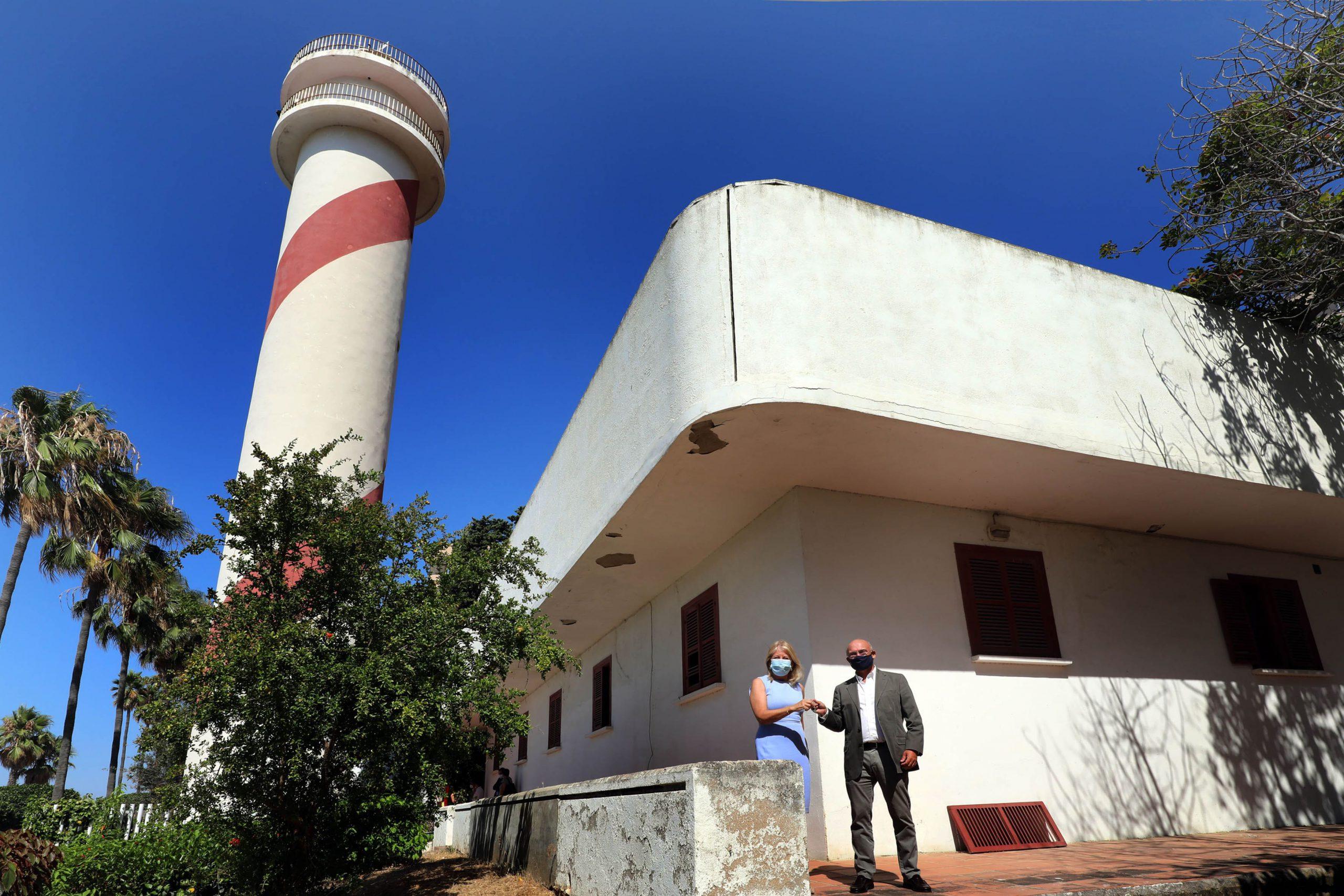 El Ayuntamiento logra oficialmente la cesión de las instalaciones del Faro de Marbella