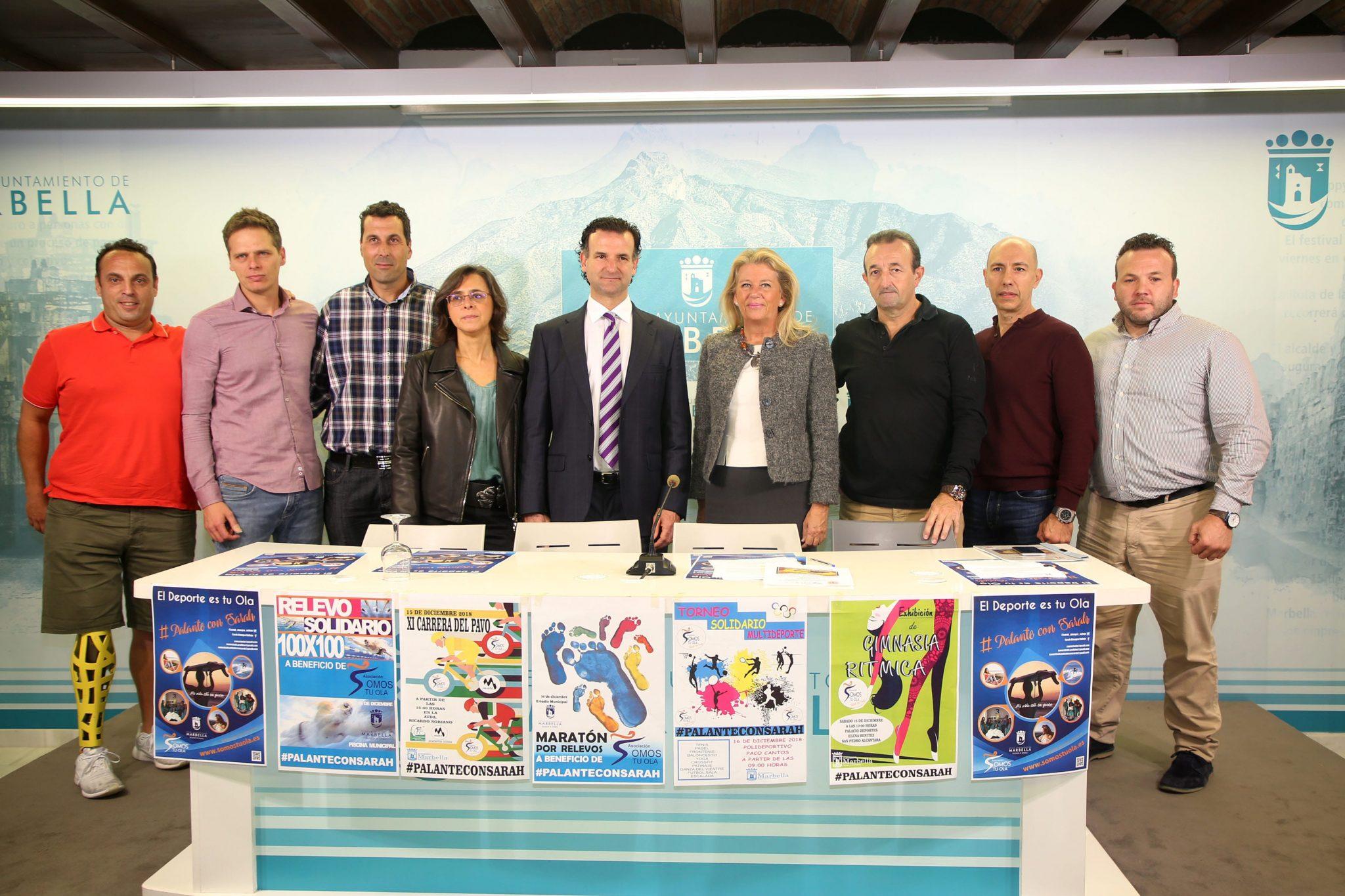 fin de semana deportivo solidario a favor de la marbellí Sarah Almagro