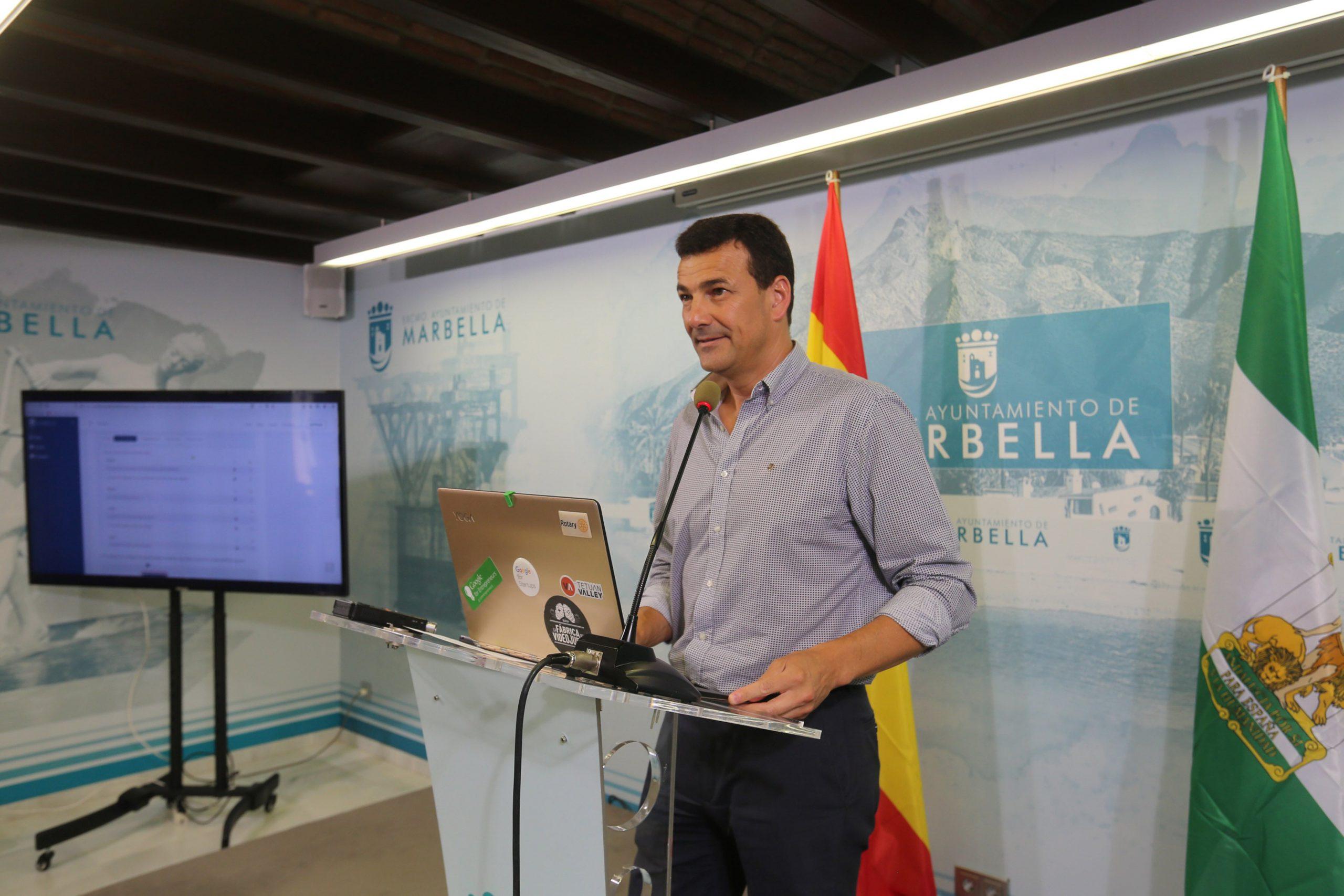 El Ayuntamiento pone en marcha el Portal de Empresas de Marbella