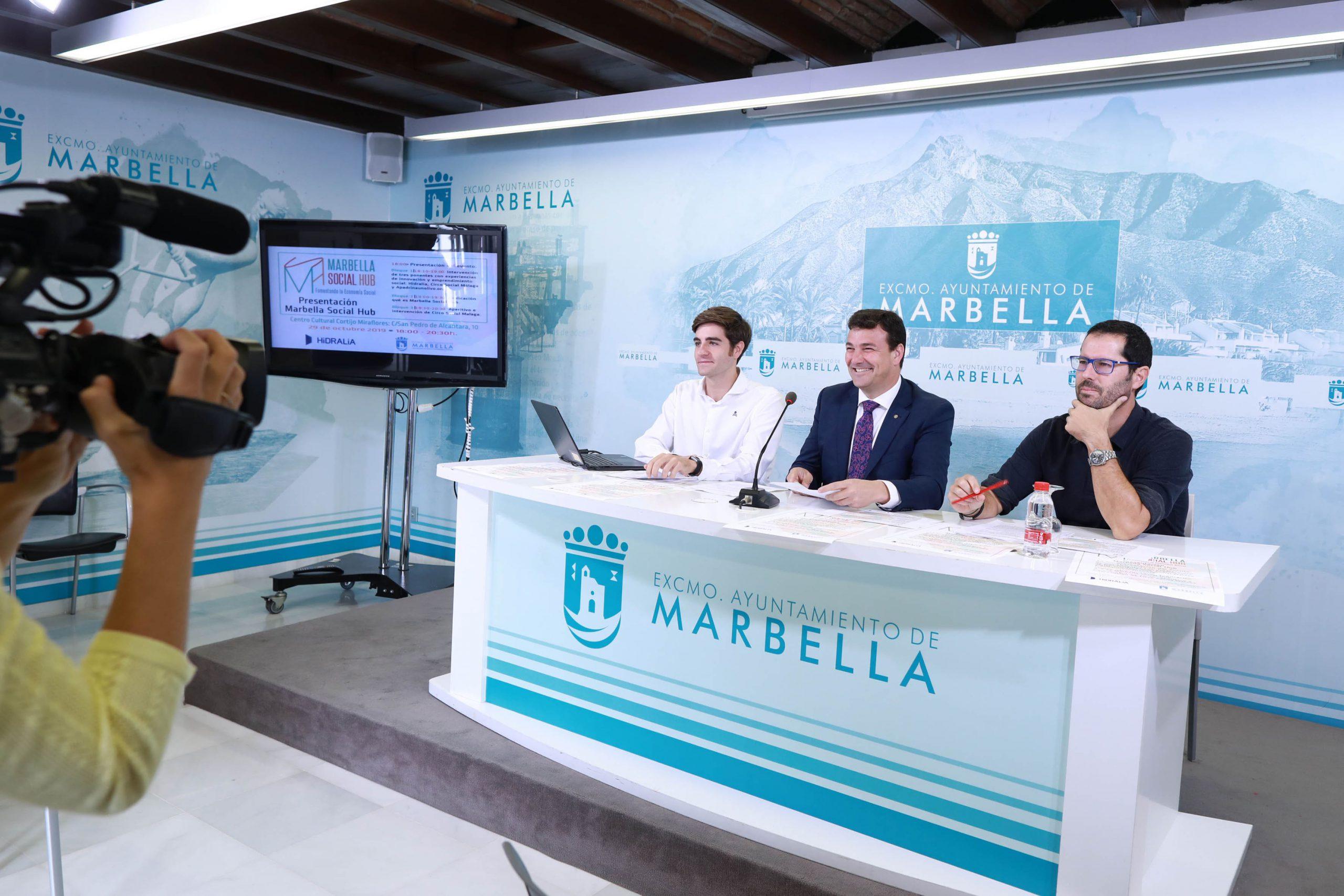 El Ayuntamiento pone en marcha el programa 'Marbella Social Hub'
