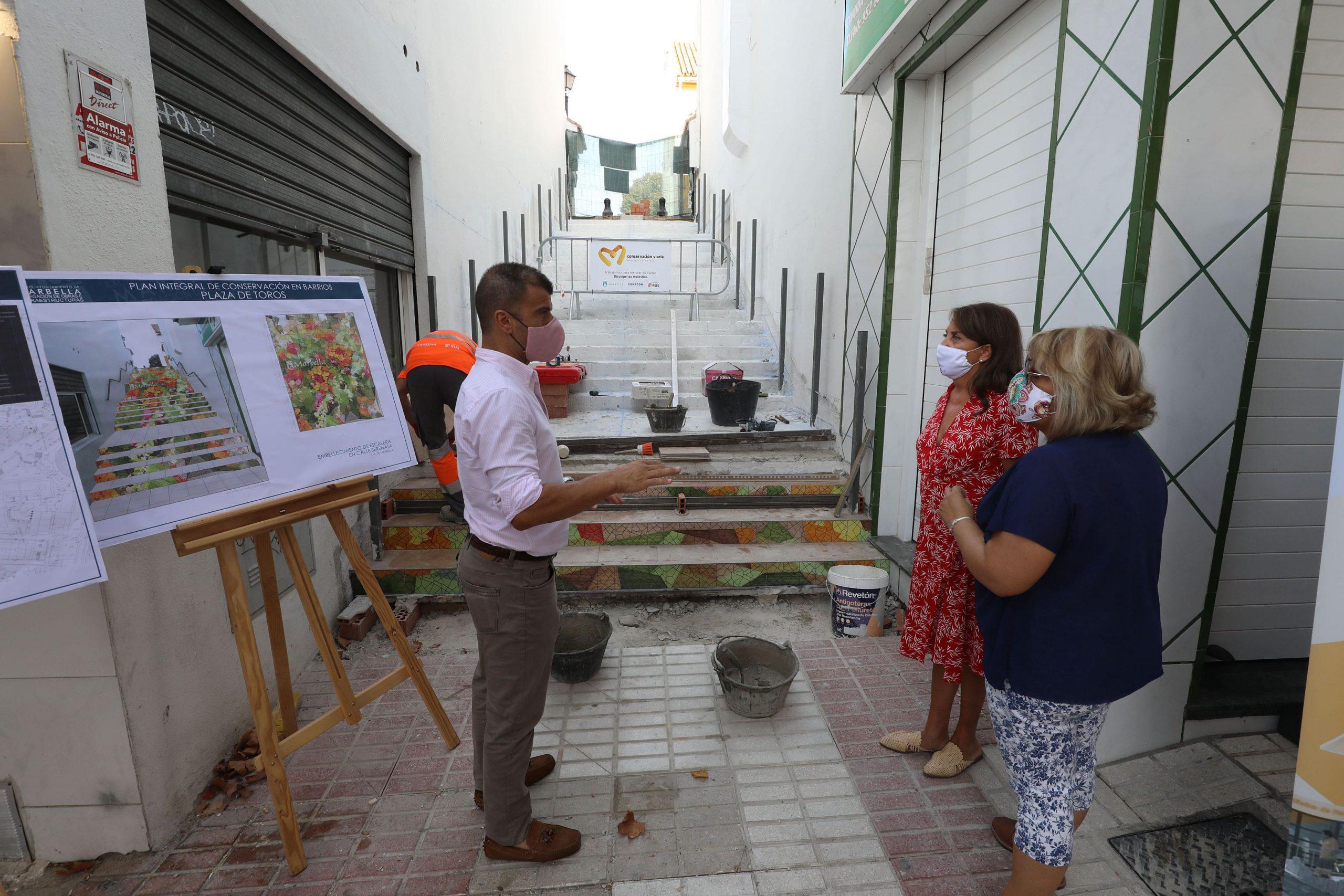 El Ayuntamiento realiza más de una veintena de actuaciones en La Patera