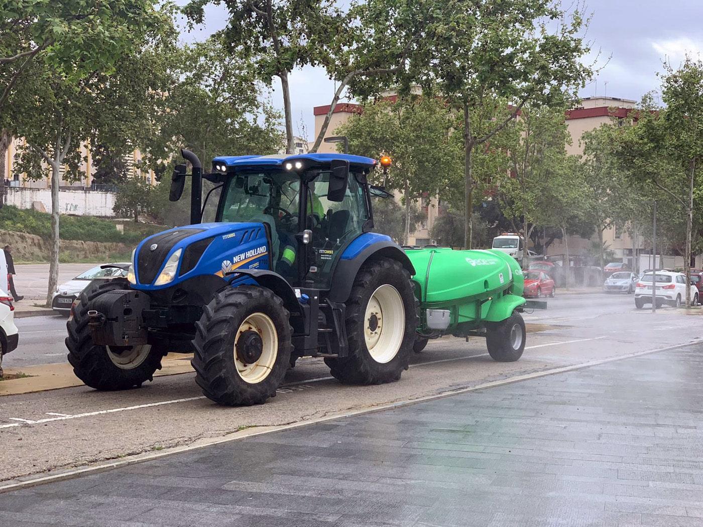 El Ayuntamiento reforzará las labores de limpieza y desinfección frente al Covid-19