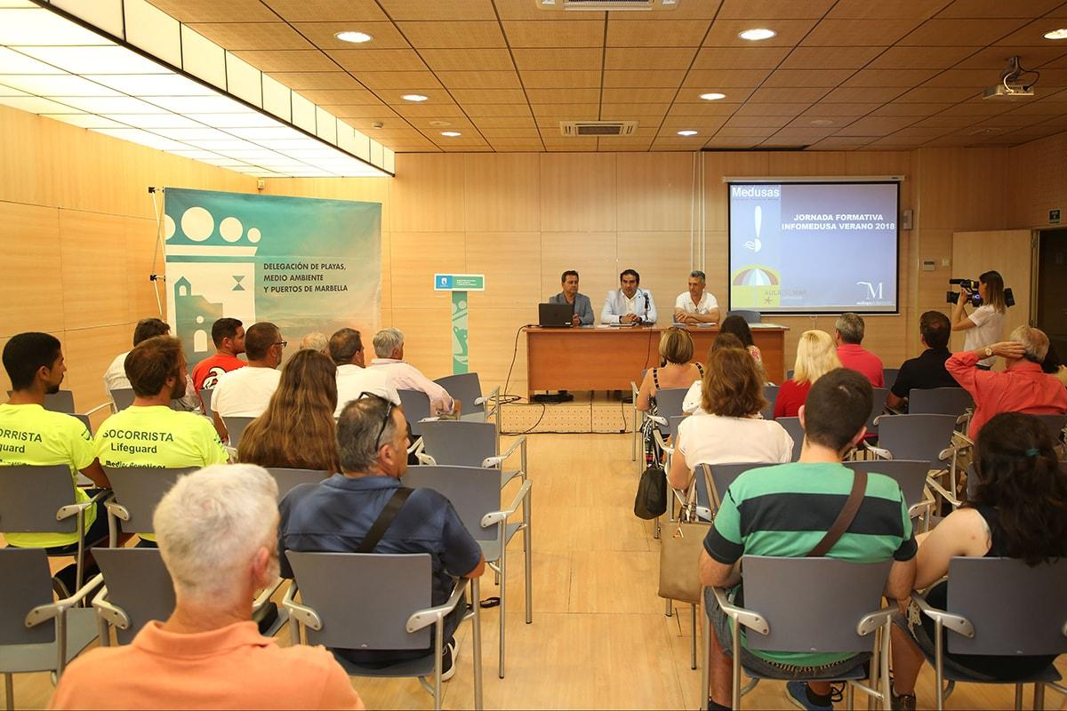 El Ayuntamiento se suma a Infomedusas, aplicación que ofrece información del estado de las playas