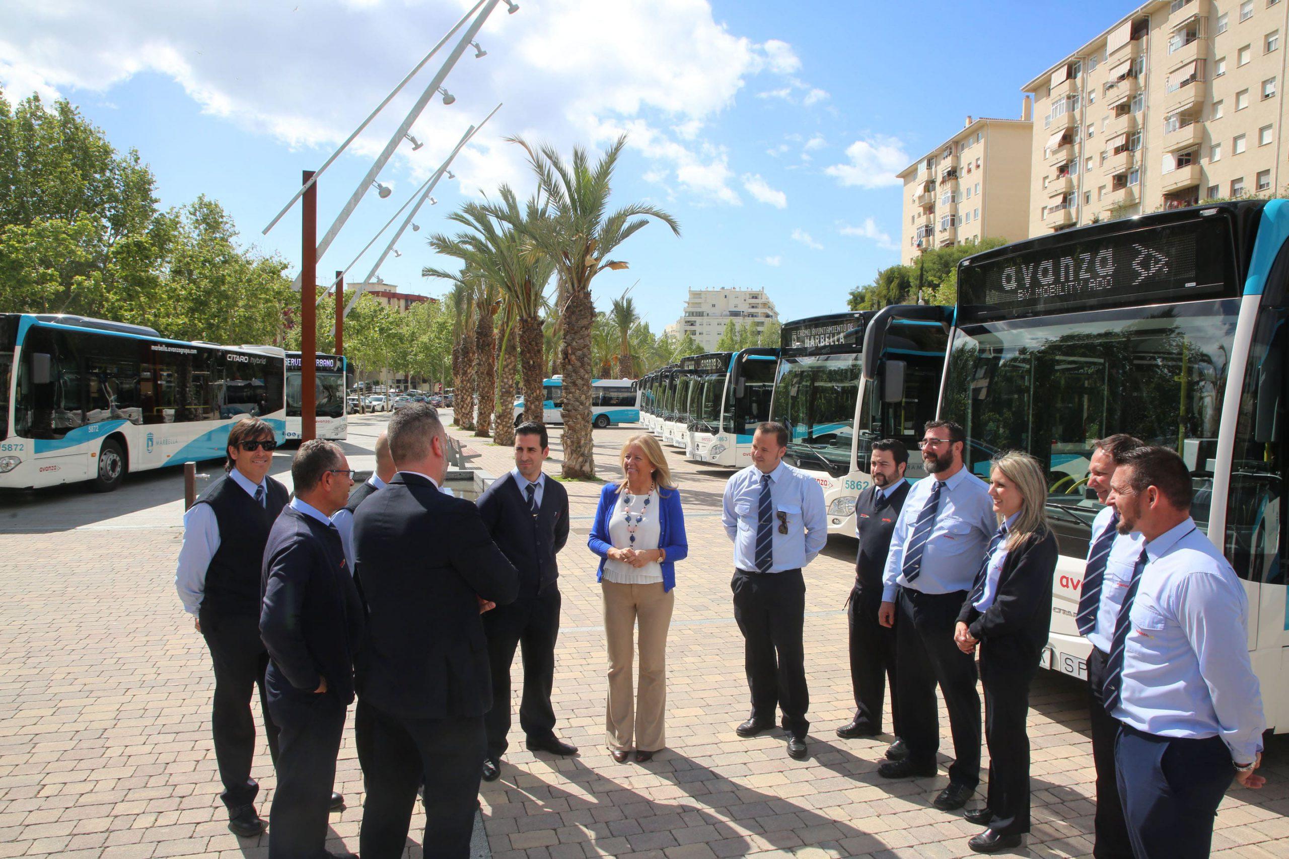 El Ayuntamiento y el Grupo Avanza ponen en funcionamiento el nuevo servicio de autobús urbano