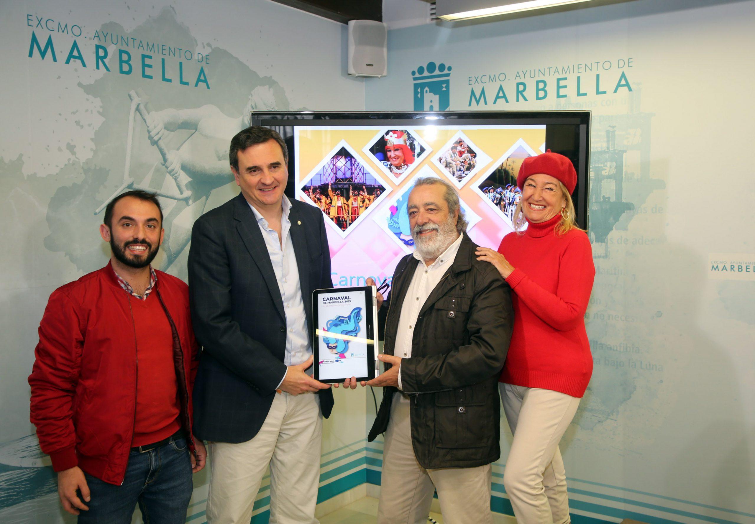 El Carnaval de Marbella 2019 se celebrará del 22 de febrero al 9 de marzo