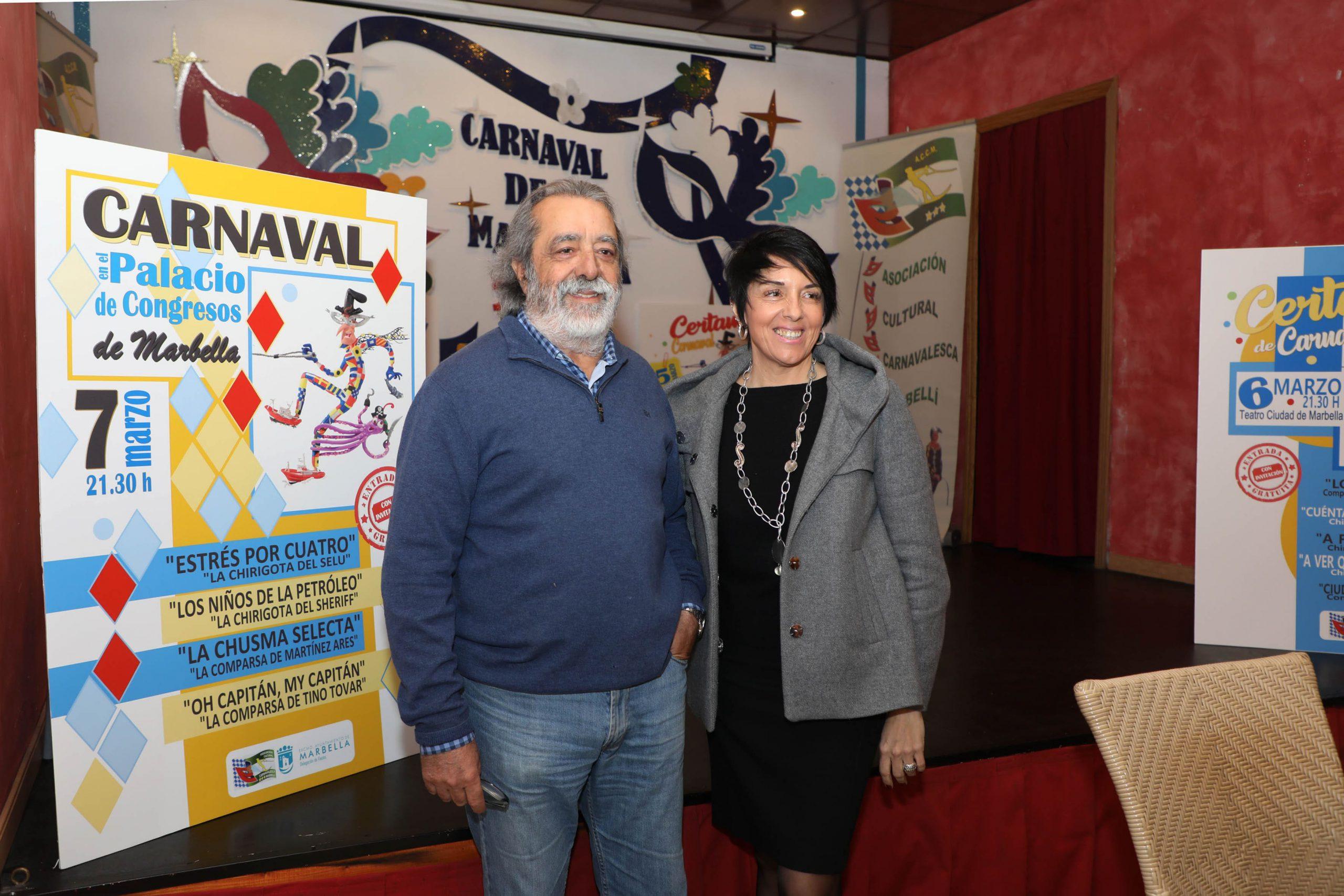 El Carnaval de Marbella 2020 tendrá lugar del 22 de febrero al 9 de marzo