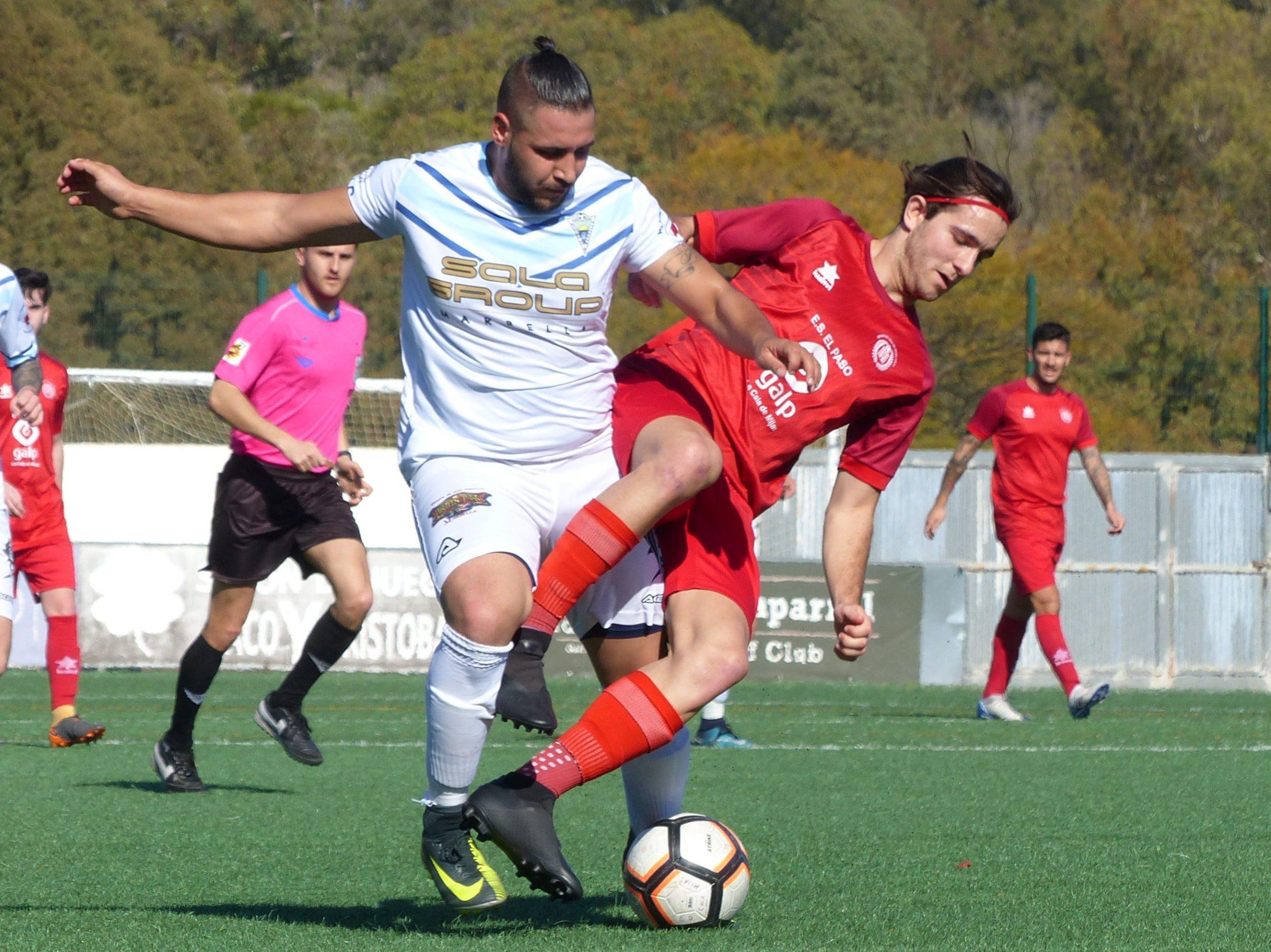 El C.D. Atlético Marbella logró la victoria ante el C.D. Cala de Mijas