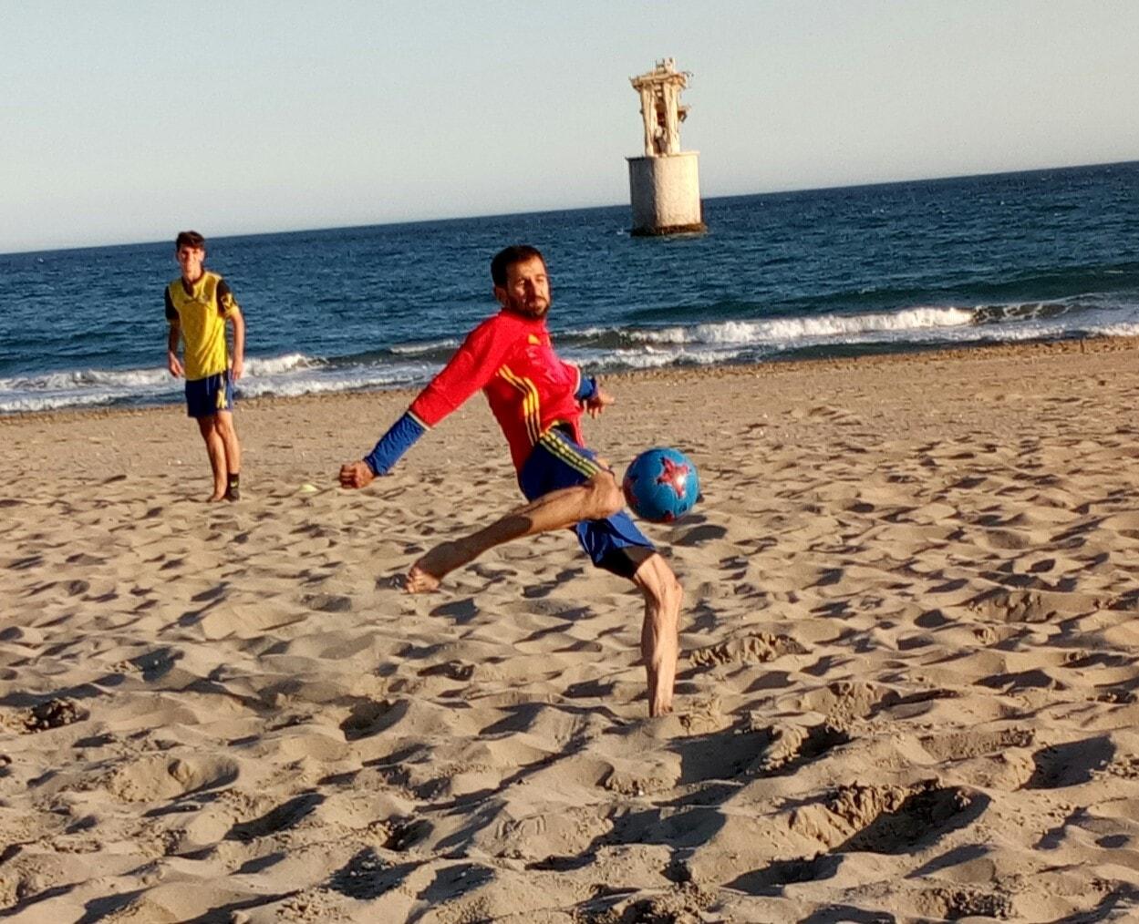 El CD Futbol Playa Marbella se estrena este fin de semana en la Liga Nacional de Futbol Playa