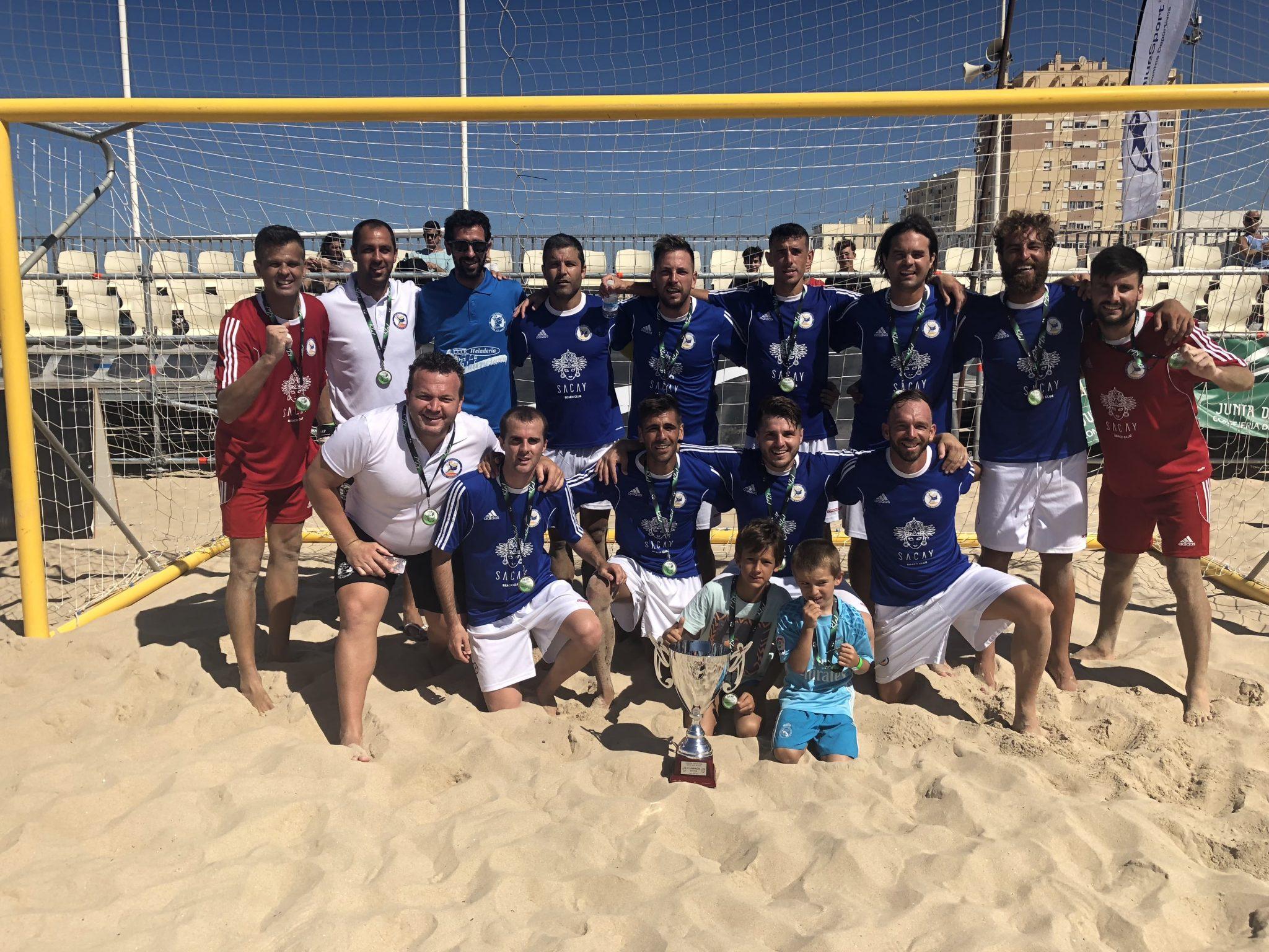 El C.D. Fútbol Playa Marbella se proclama campeón de Andalucía en Cádiz