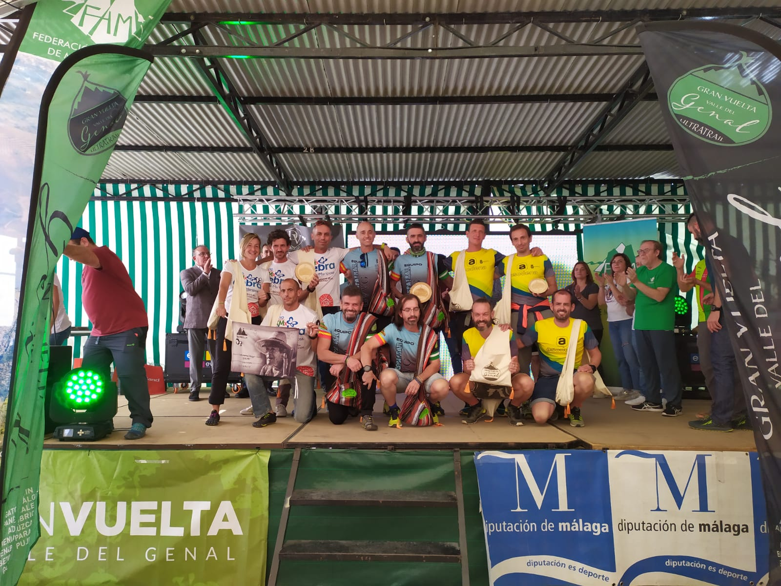 El CEM Sierra Blanca 'Etterkom', subcampeón por equipos en la Gran Vuelta al Valle del Genal 2019