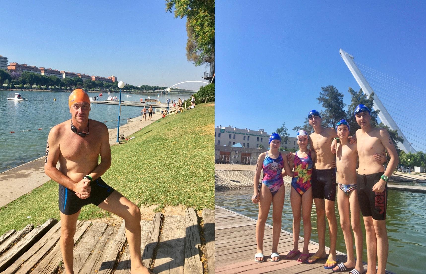 El Club Natación Marbella participa con éxito en diversas competiciones