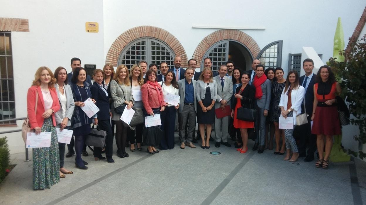 El Colegio de Abogados de Málaga forma en Marbella a 25 abogados expertos en Derecho de Familia