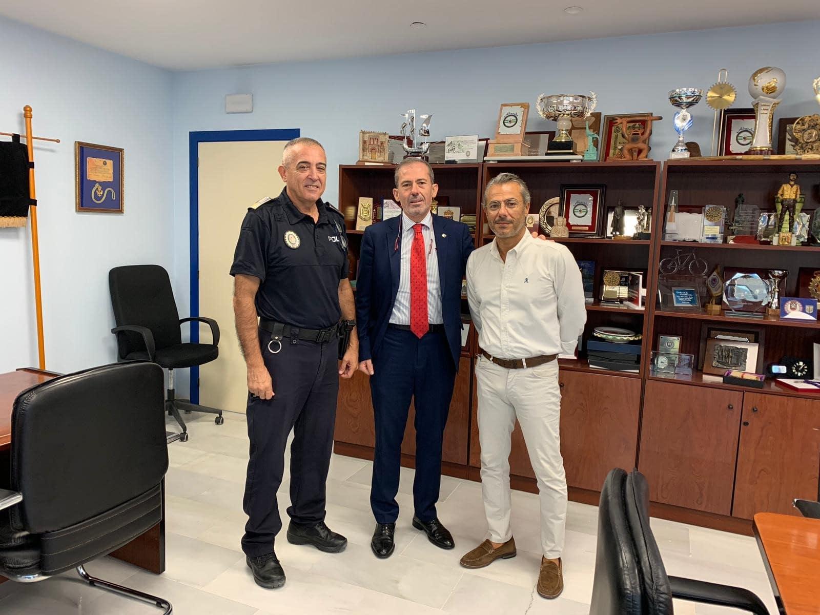 El Colegio de Abogados de Málaga y la Policía Local de Marbella aunarán esfuerzos en materia de formación