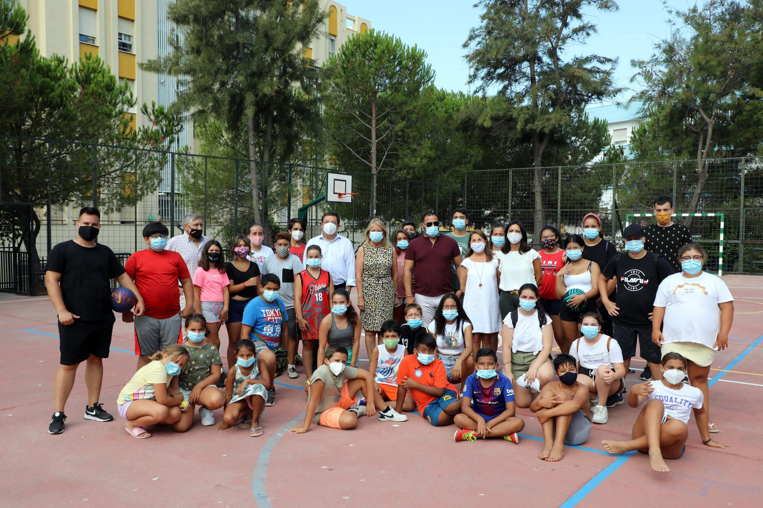 El colegio Federico García Lorca acogerá a más de 80 escolares en verano