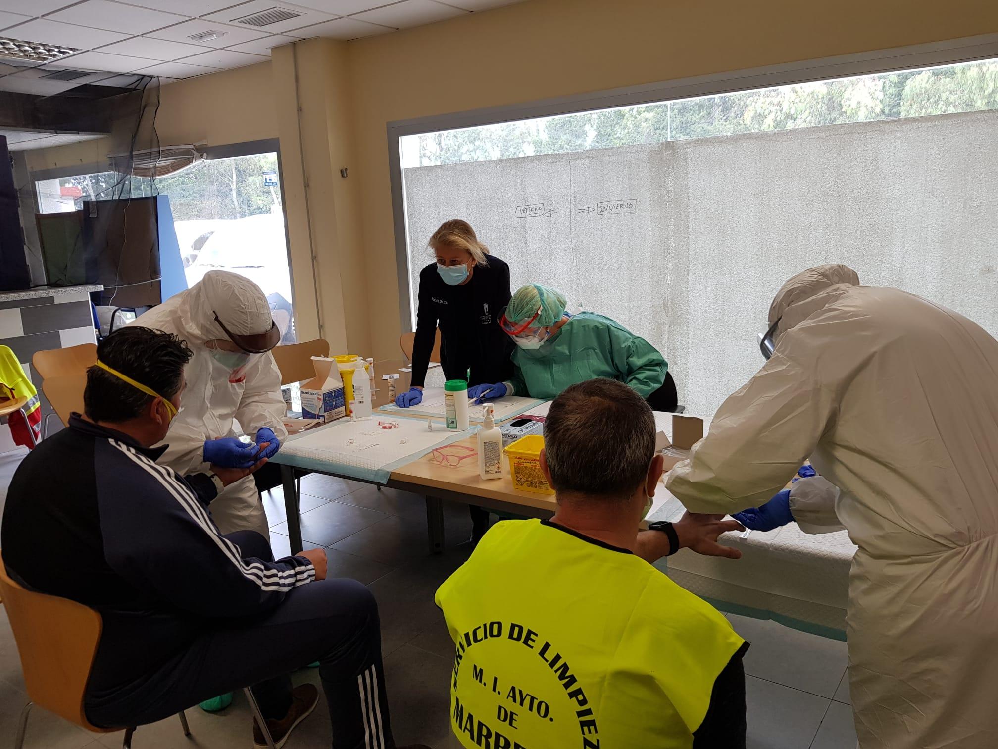 El Consistorio comienza hoy con los test rápidos de detección del Covid-19
