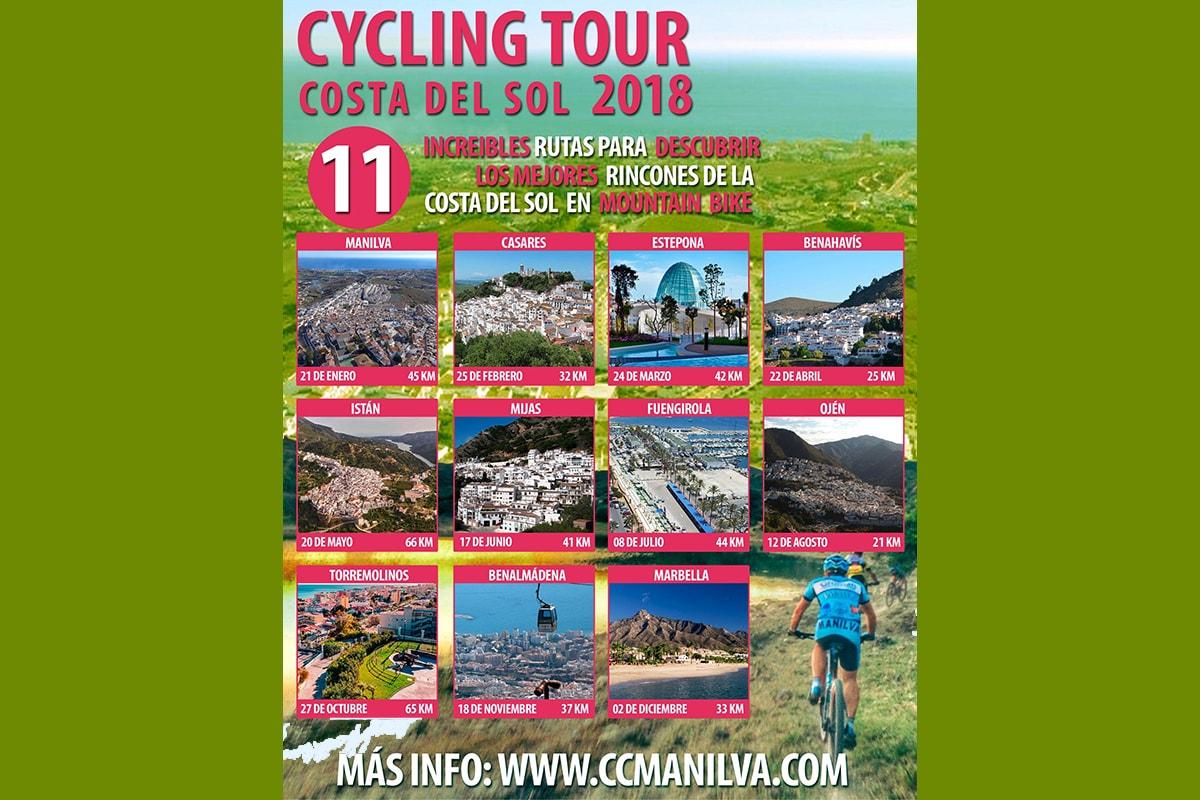 El Cycling Tour Costa del Sol nos convierte en el epicentro del cicloturismo