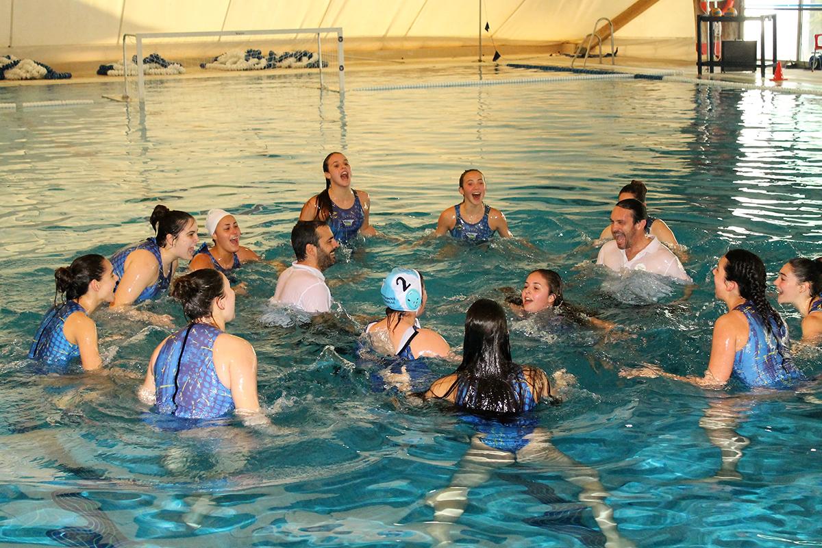 El equipo Sénior Femenino del Club Waterpolo Marbella logra la medalla de plata nacional