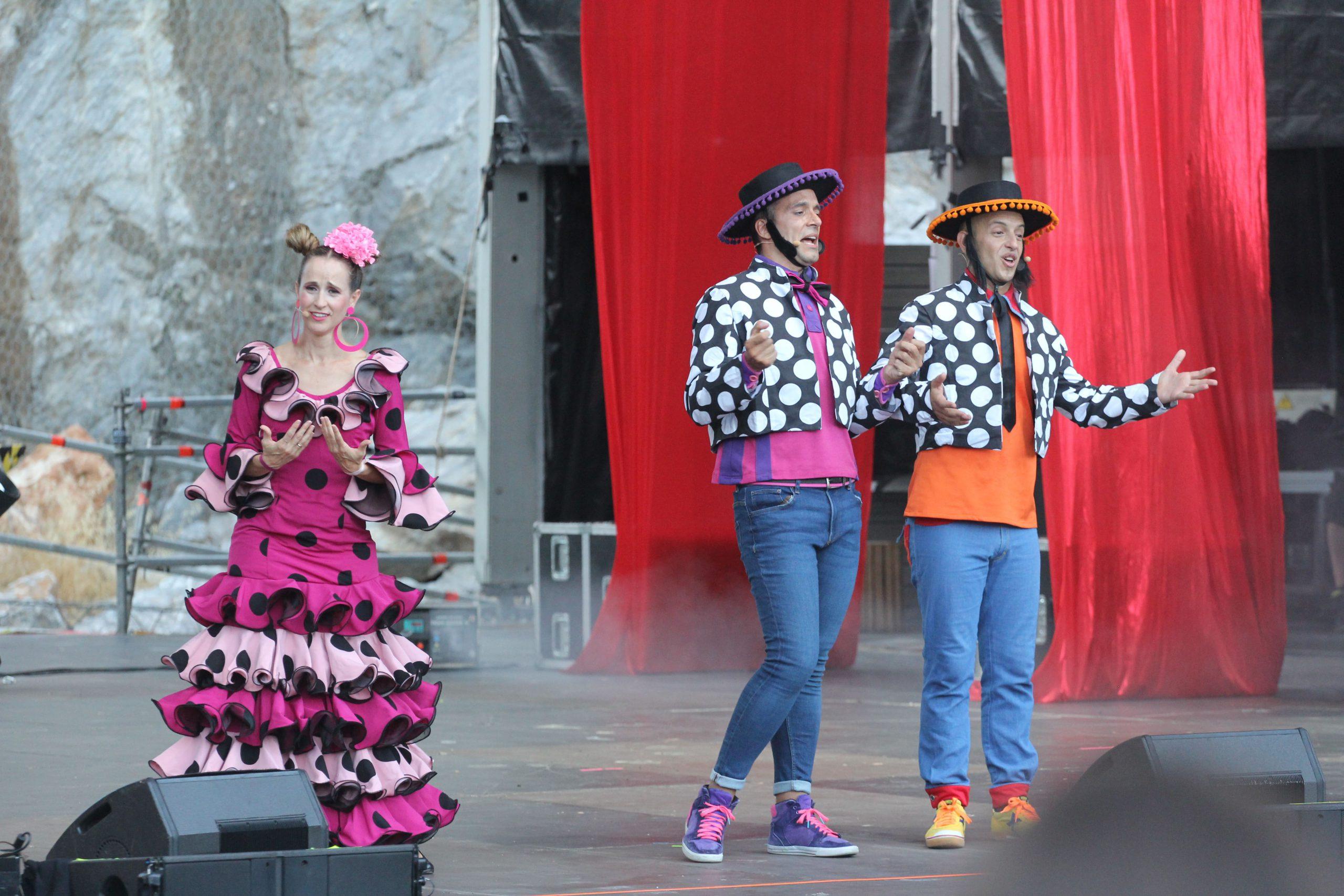 El grupo infantil Pica Pica encandila en Starlite Catalana Occidente a grandes y pequeños