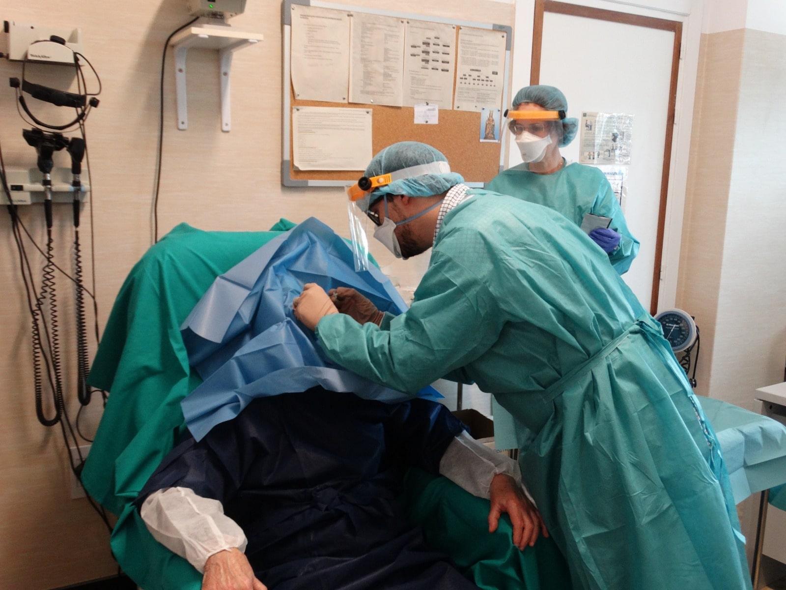 El Hospital Costa del Sol desarrolla un circuito nuevo para pacientes con alto riesgo de pérdida de visión