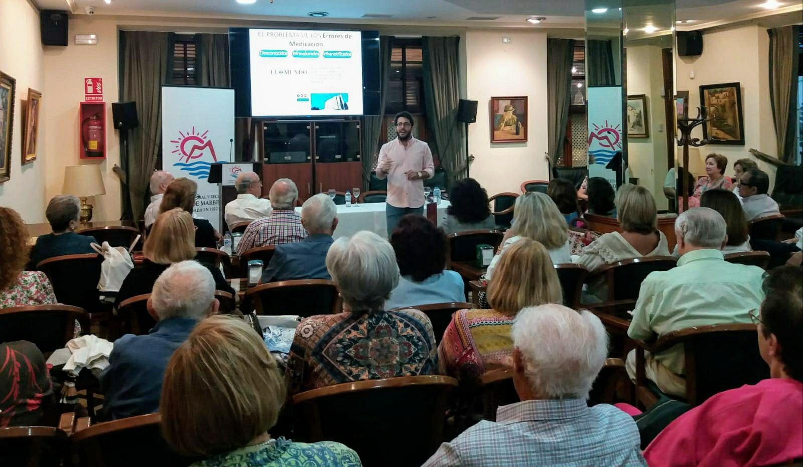 El Hospital Costa del Sol informa sobre los errores de medicación y su prevención