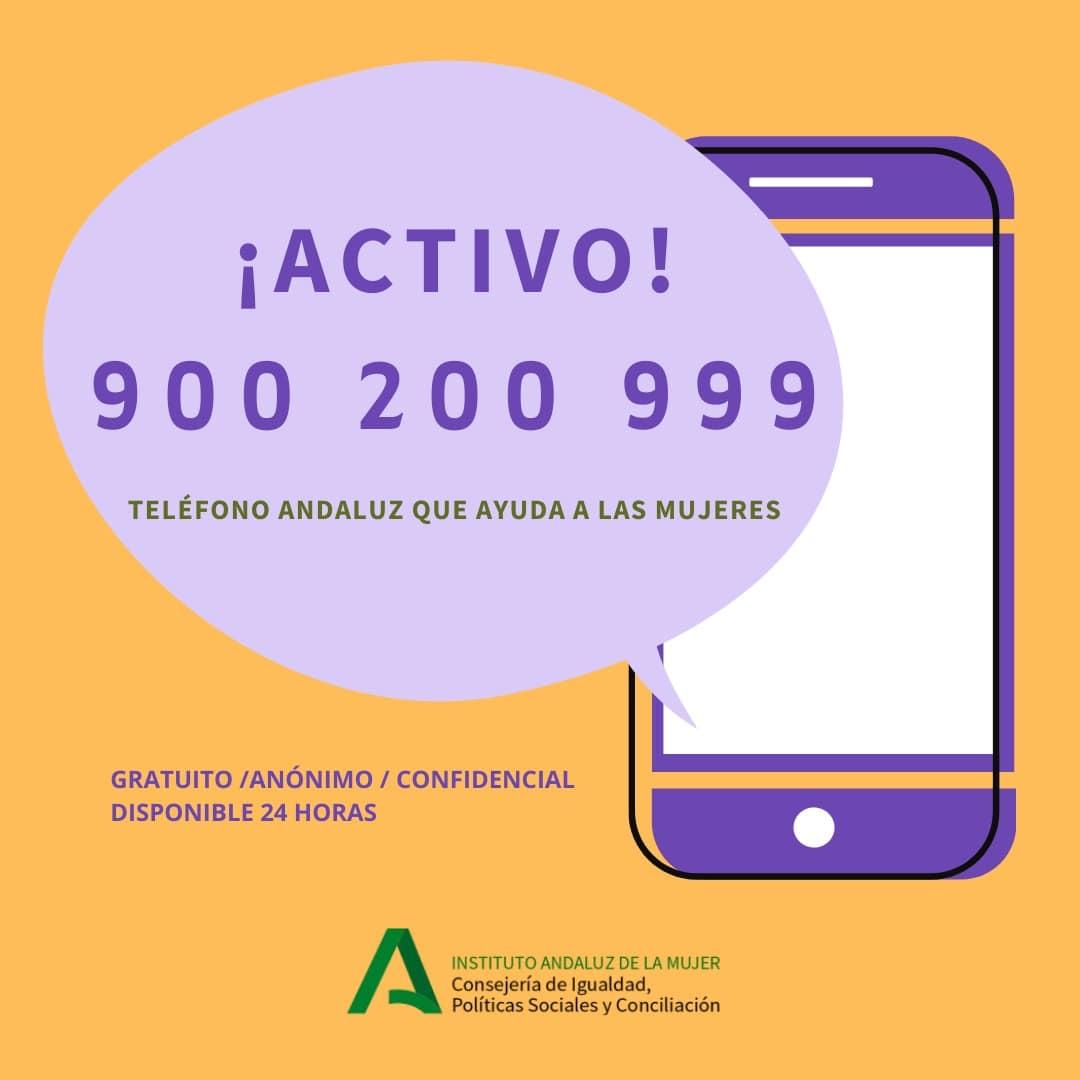 El IAM mantiene vía telefónica la atención psicológica a las mujeres víctimas de violencia de género en terapia