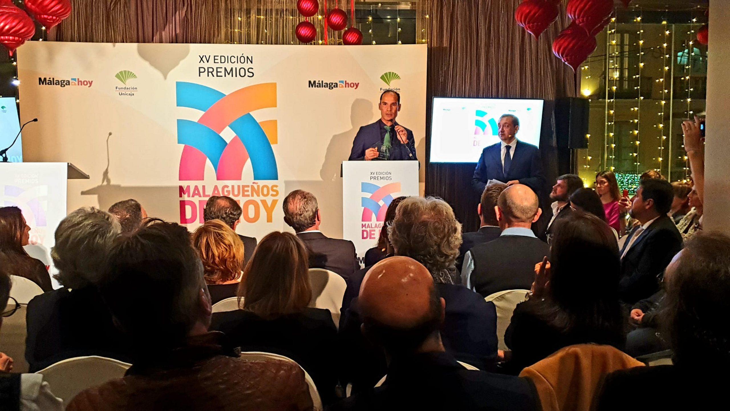 El jefe de Cirugía del Hospital Quirónsalud Málaga, Premio Malagueño de Hoy 2019