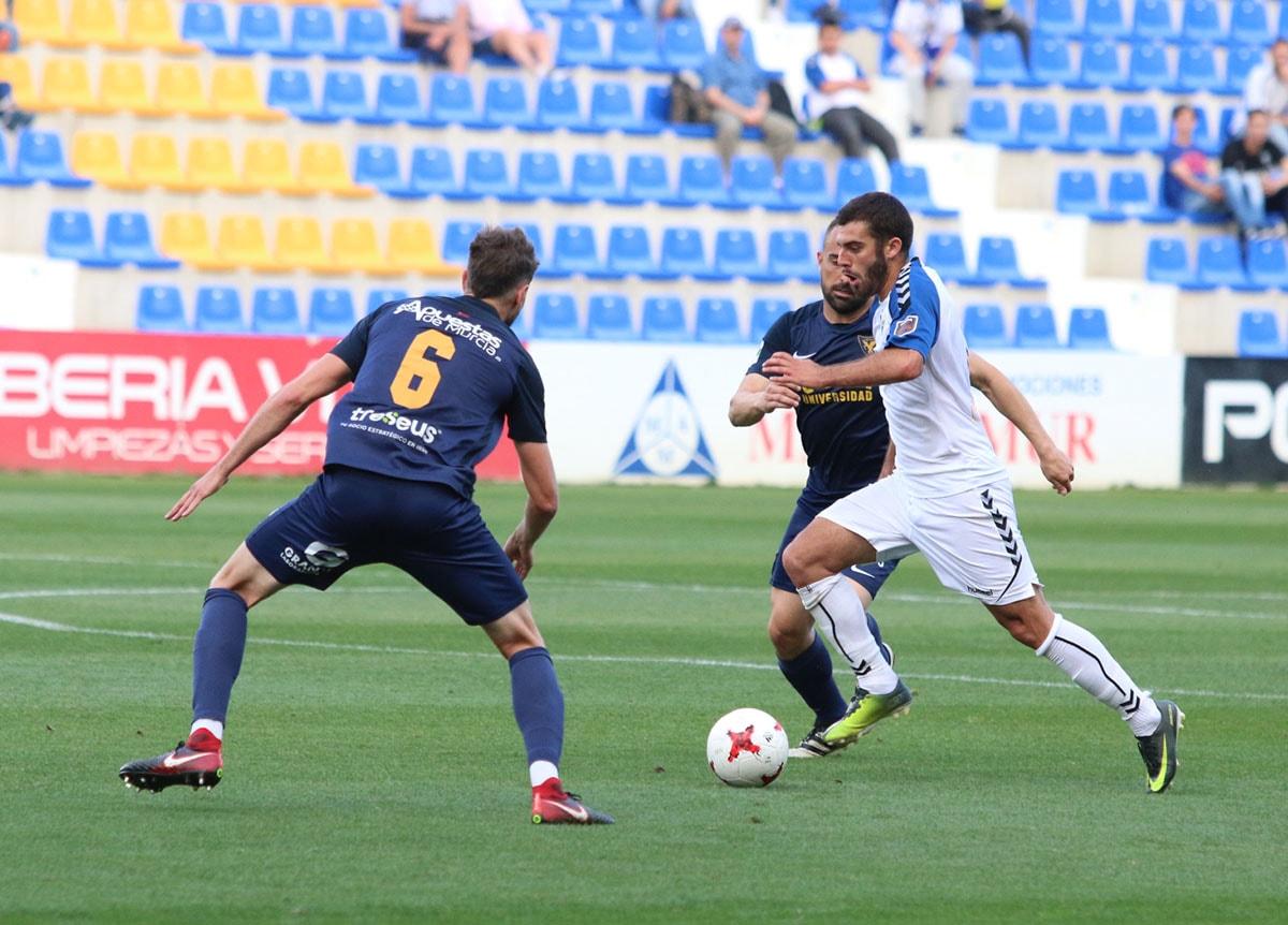 El Marbella FC cae en La Condomina (2-1) ante un potente UCAM Murcia