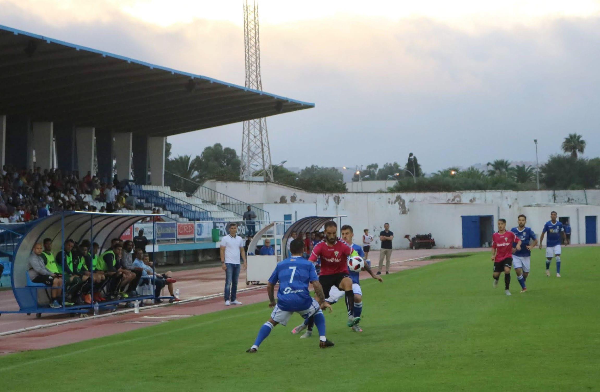 El Marbella FC cae en Melilla pese a adelantarse en el marcador (2-1)