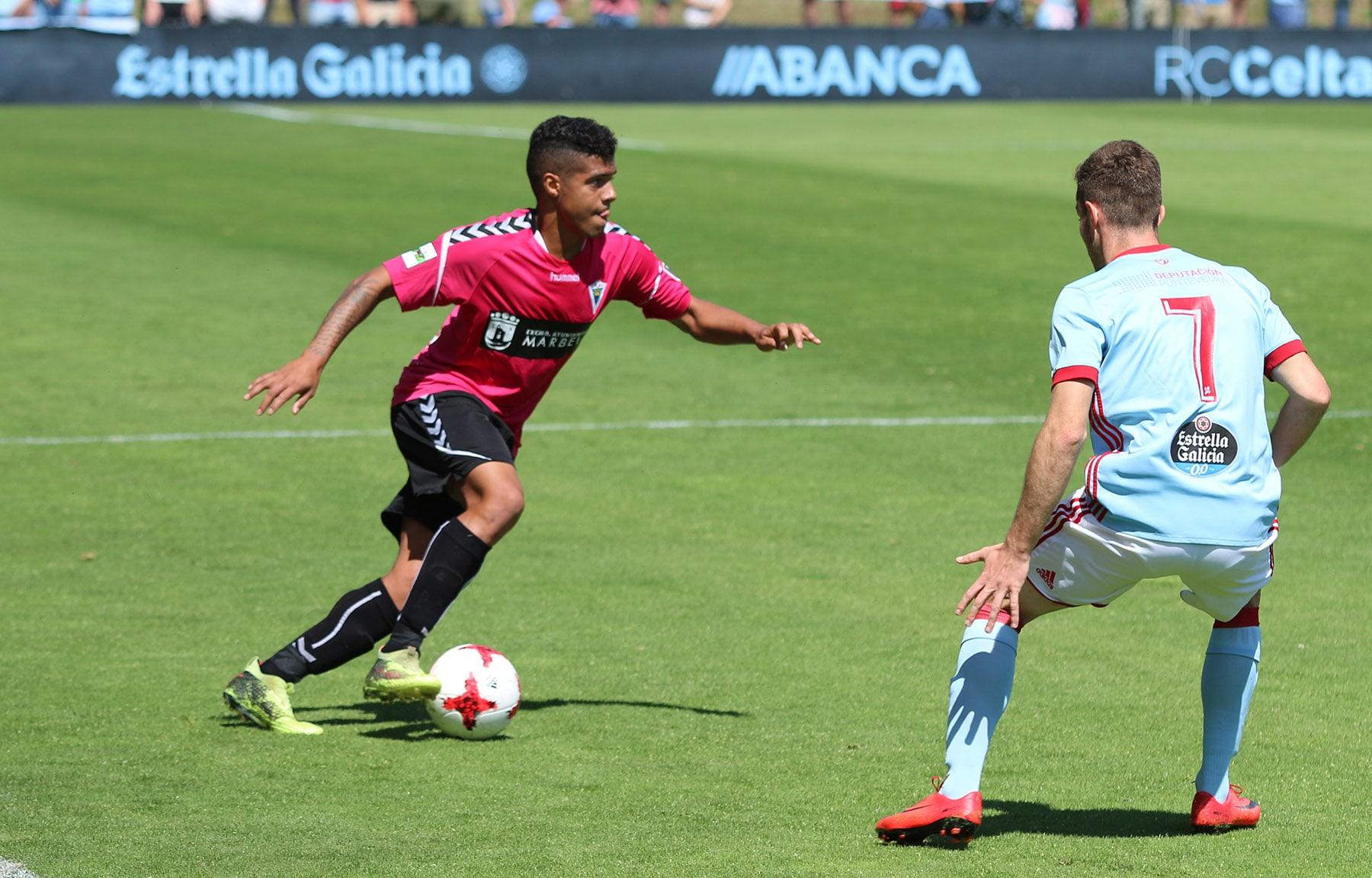 El Marbella FC deberá remontar ante el Celta B para poder ascender a Segunda División