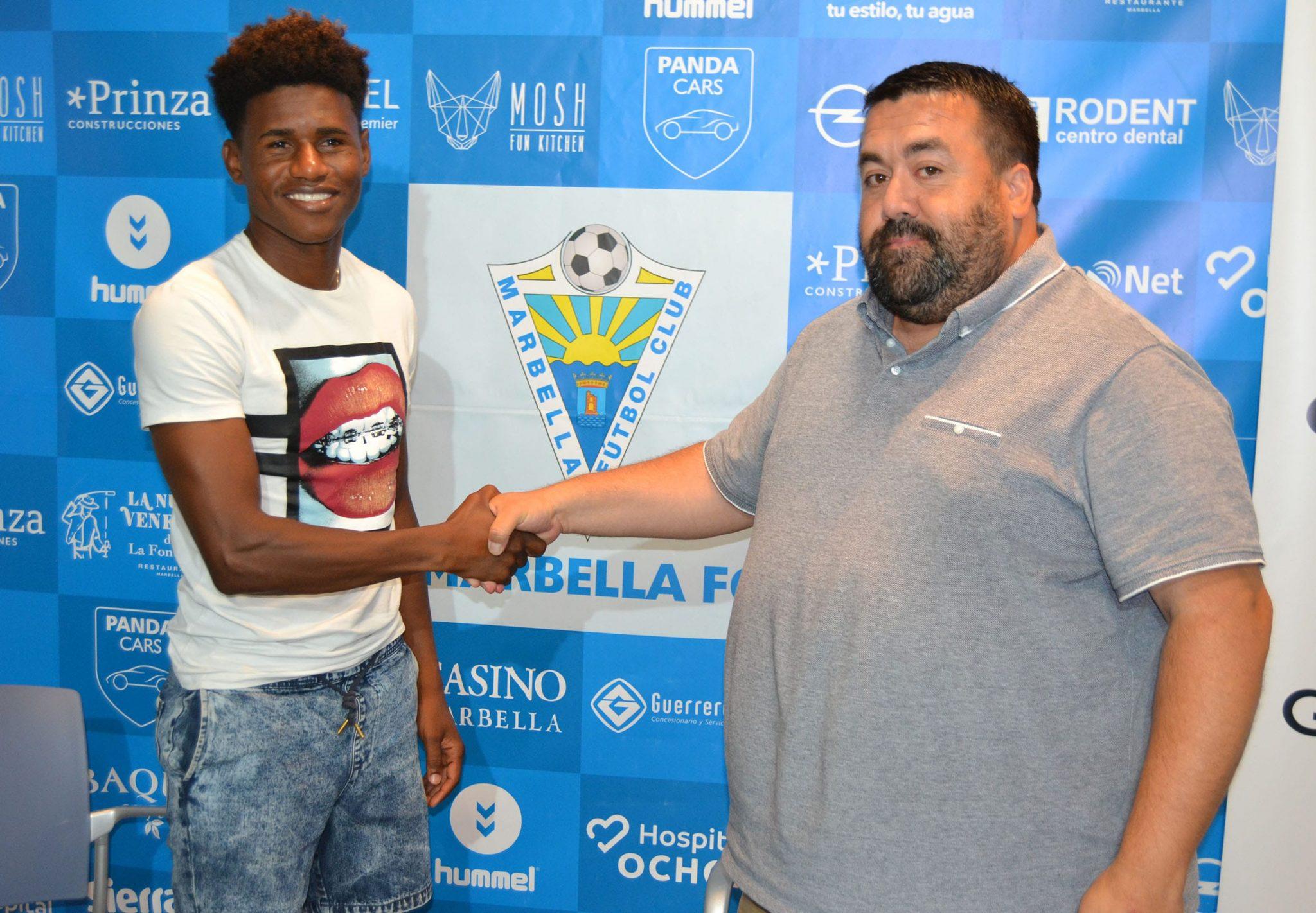 El Marbella FC presenta a 'Mustafá' Azman y confirma el fichaje de Lamine N'Diaye