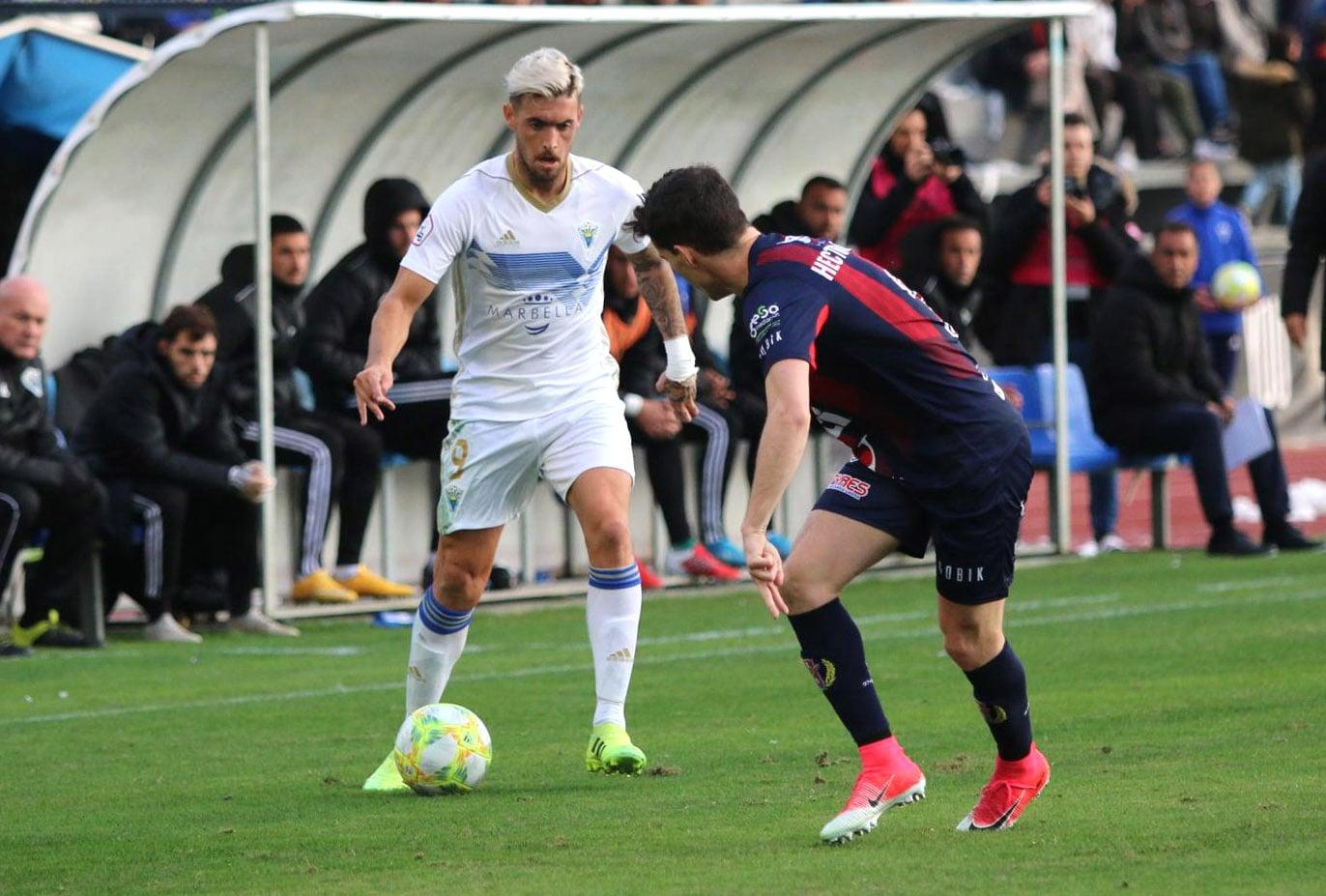 El Marbella F.C. vs Yeclano, lanzado y ganador en un gran partido (2-1))