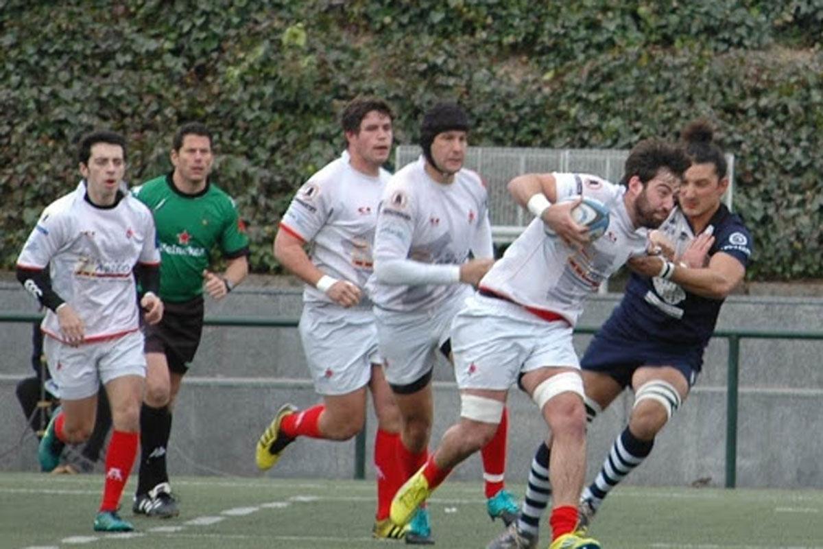 El Marbella Rugby Club reacciona tarde y cae 30 a 22 ante Arquitectura