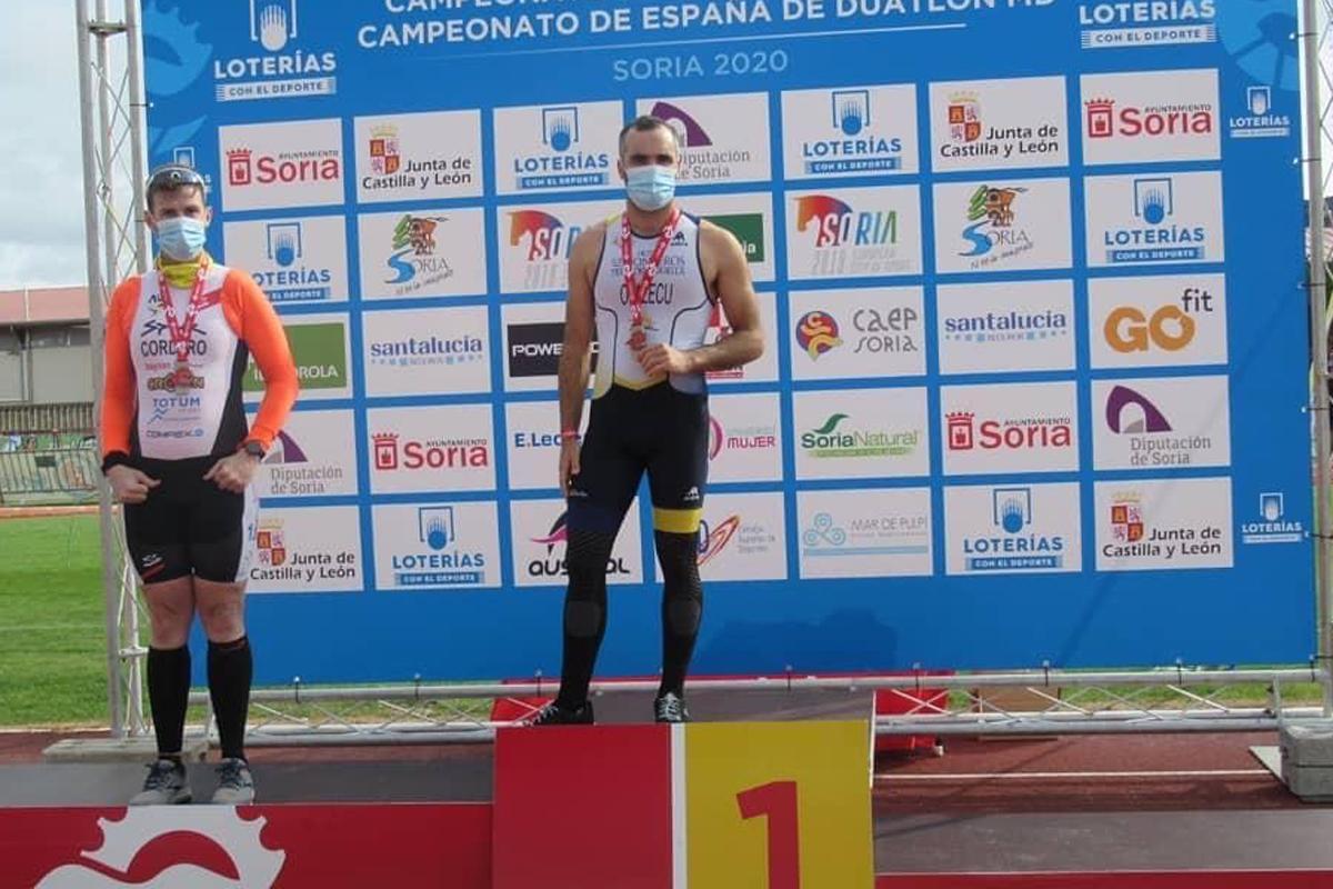 El marbellí Jorge Otalecu, campeón de España de paraduatlón