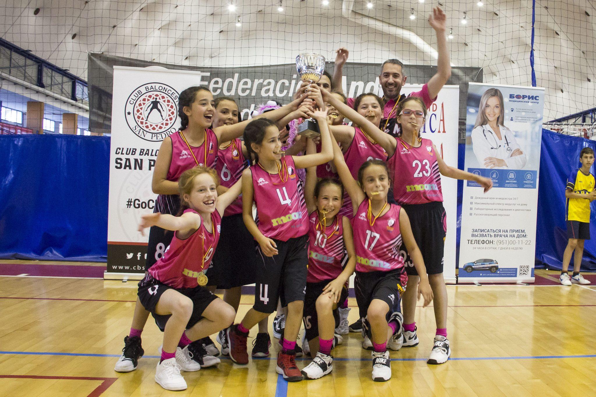 El Moonz CB Costa Marbella se hace con la Copa de Oro Provincial