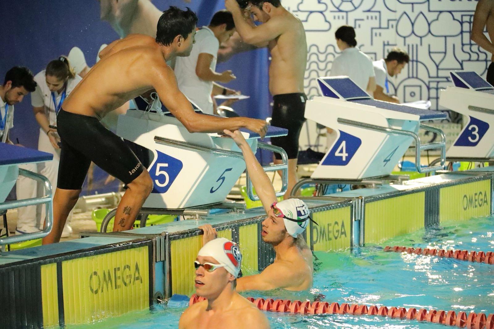 El nadador Alejandro Trujillo logra cuatro medallas en el 34º Meeting Internacional de Oporto en Portugal