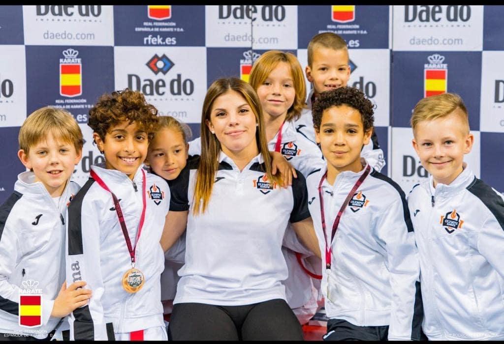 El Olympic Karate Marbella es líder nacional por sexta vez consecutiva
