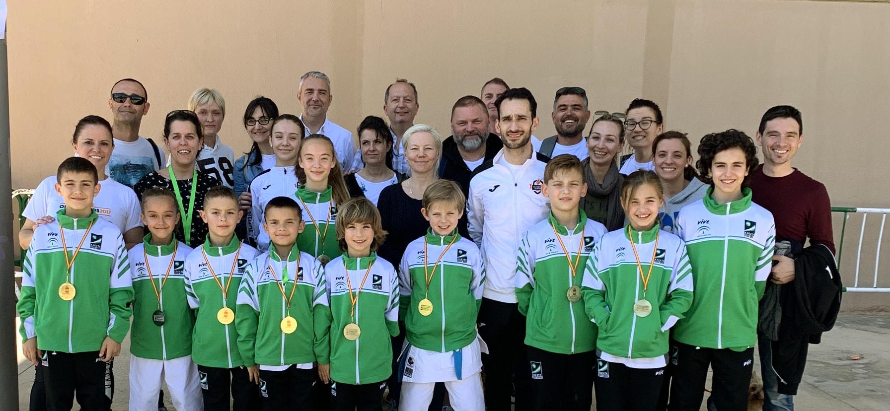 El Olympic Marbella triunfa en el Campeonato de España con nueve medallas