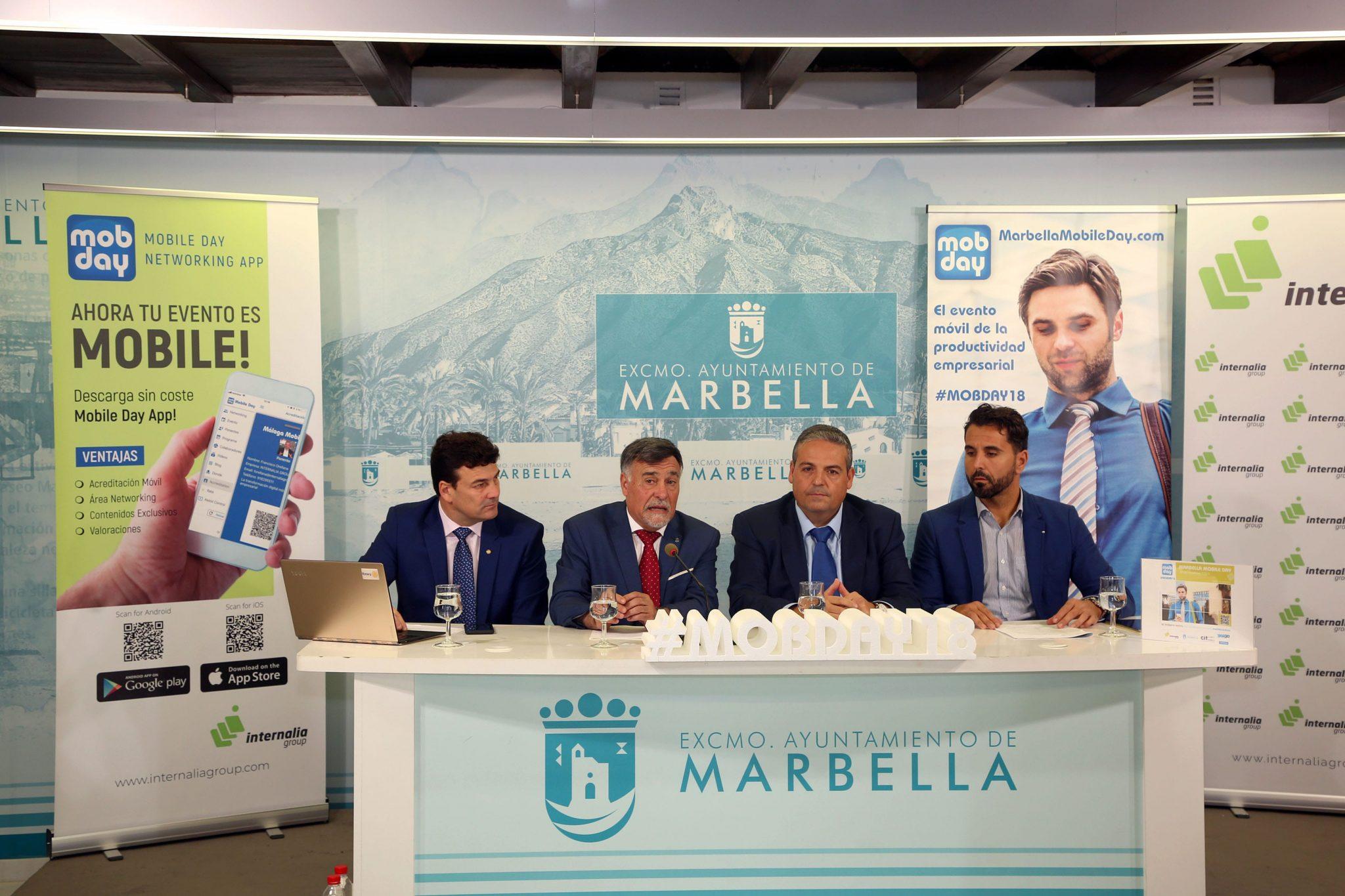 El Palacio de Congresos Adolfo Suárez acogerá el próximo 14 de noviembre el congreso Marbella Mobile Day 2018