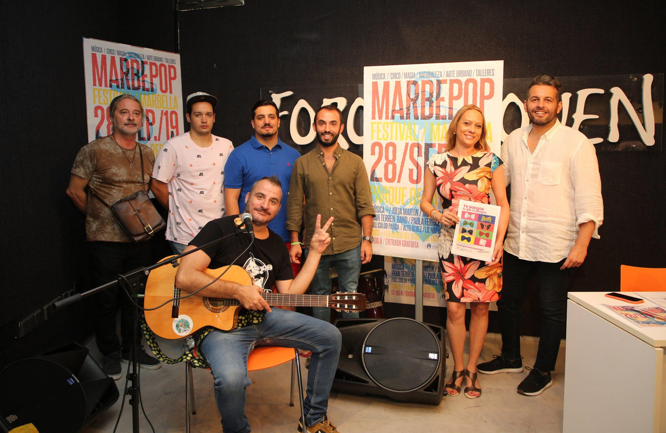 El parque Arroyo de la Represa acoge la IV edición del Festival Marbepop