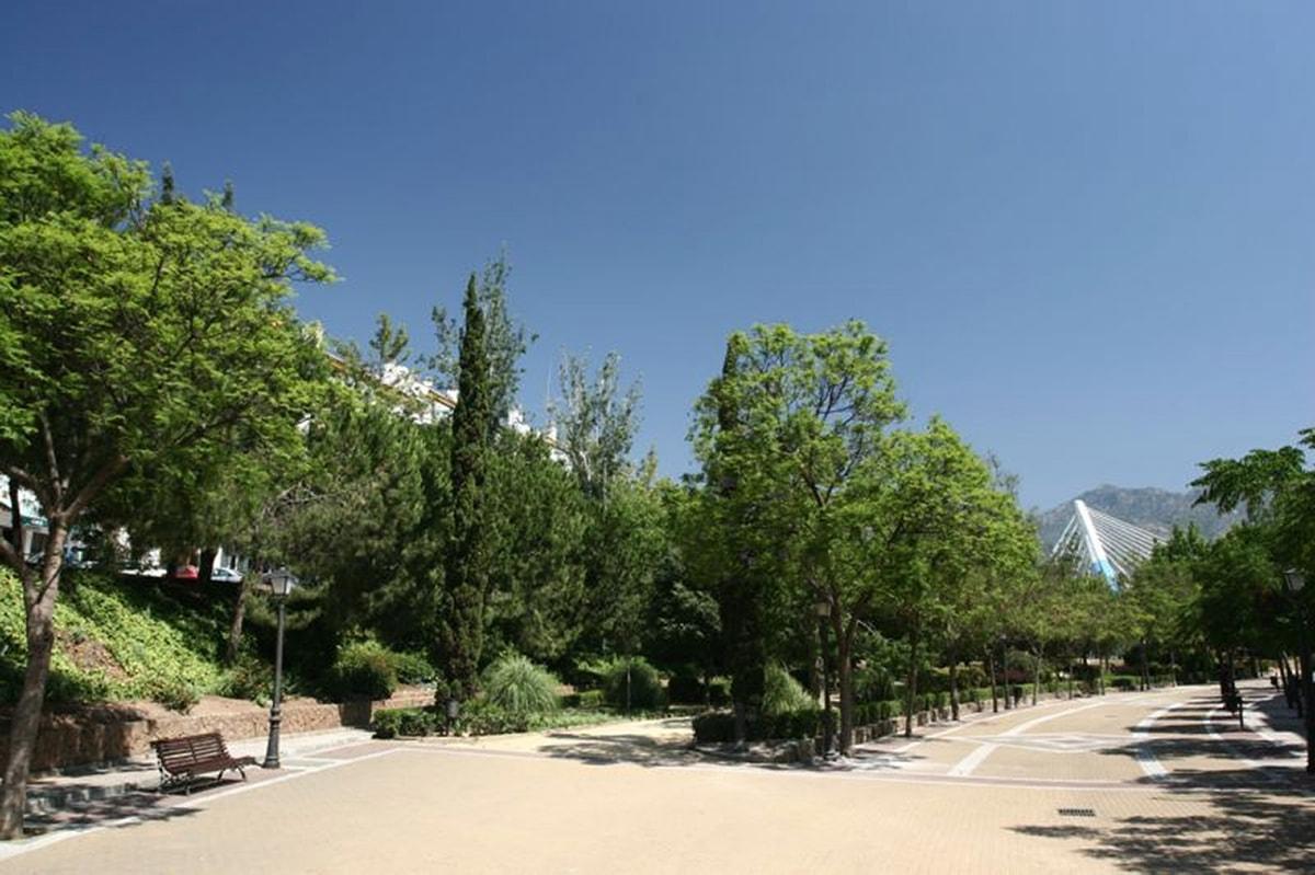 El parque de la Represa acogerá este año por primera vez la Feria Social de Marbella