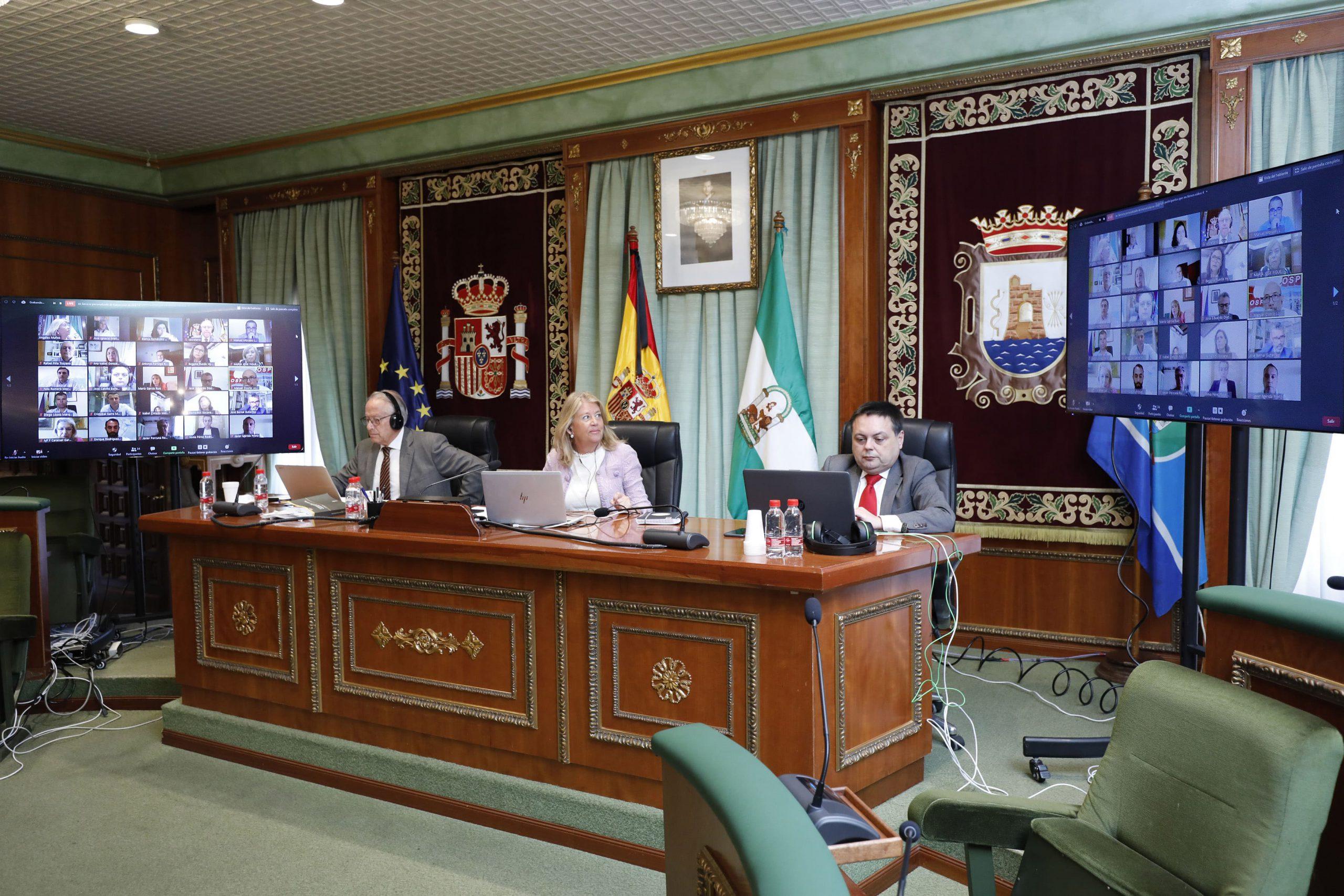 El Pleno aprueba una modificación presupuestaria para obras prioritarias en la ciudad