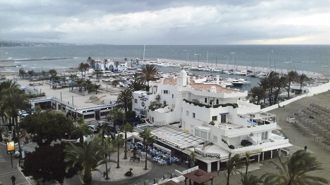El Puerto Deportivo Virgen del Carmen de Marbella instala un sistema de cámaras web