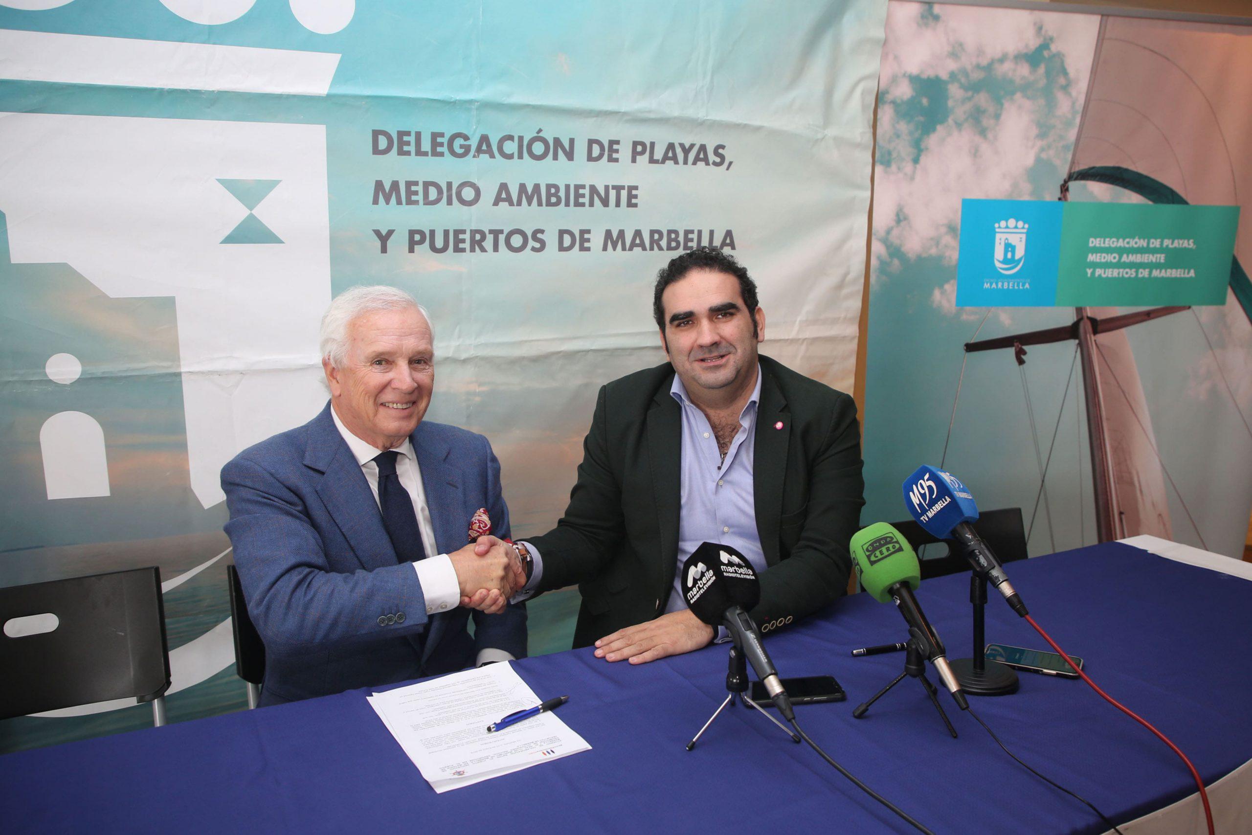 El Puerto Deportivo Virgen del Carmen y el Club Marítimo de Marbella colaborarán para la promoción y realización de actividades náutico-deportivas