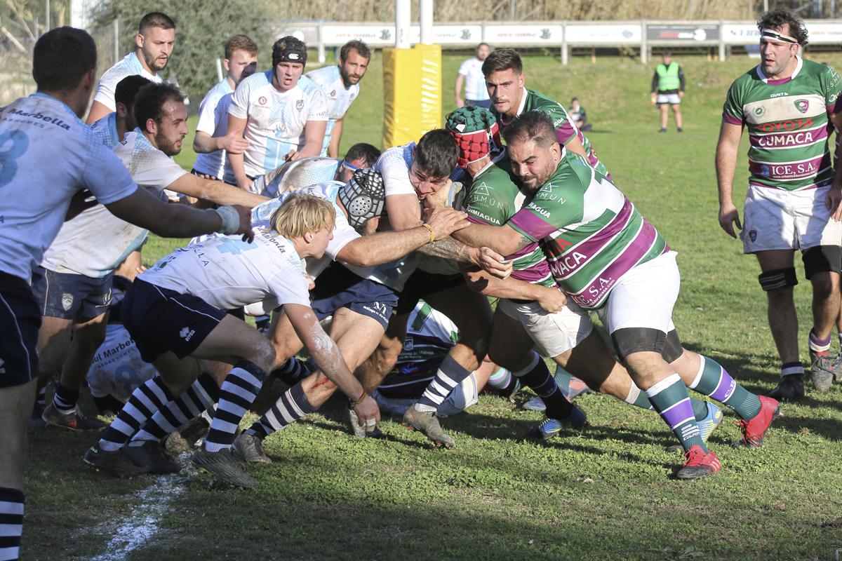 El Rugby Marbella cae en el derby ante el Rugby Málaga