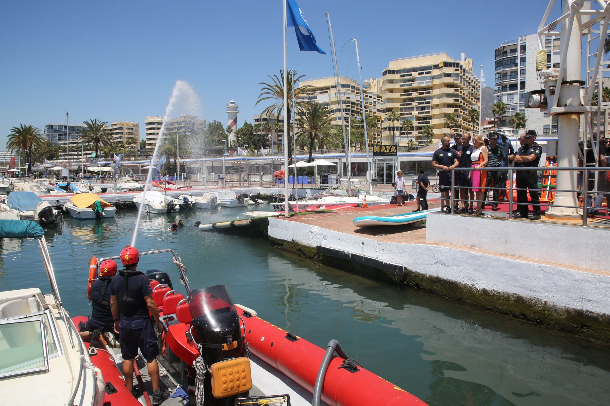 El servicio de rescate acuático y subacuático de los Bomberos completa su proceso formativo